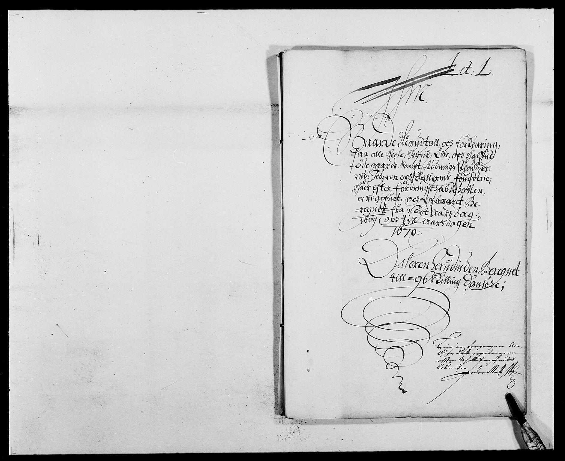 RA, Rentekammeret inntil 1814, Reviderte regnskaper, Fogderegnskap, R46/L2711: Fogderegnskap Jæren og Dalane, 1668-1670, s. 250