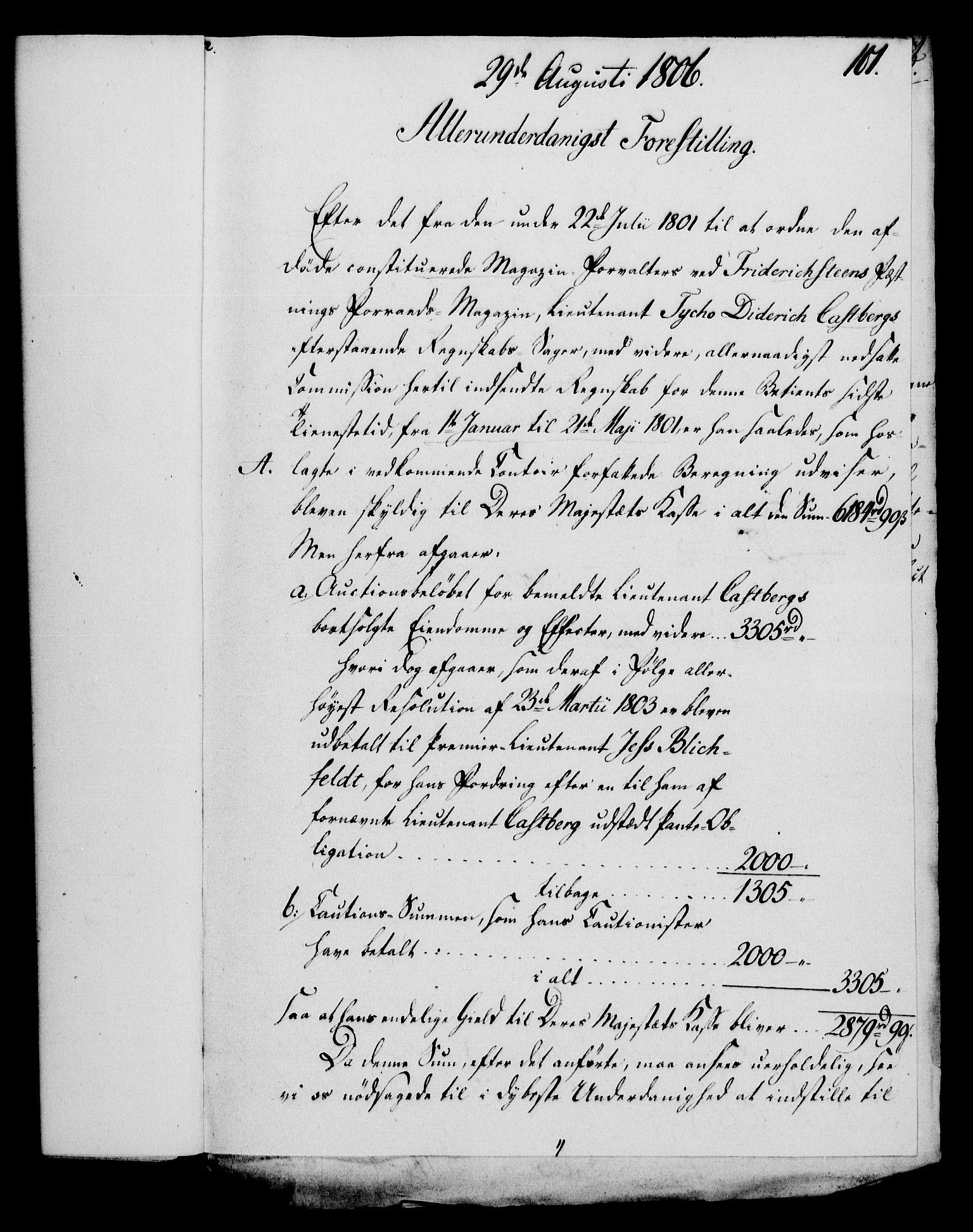 RA, Rentekammeret, Kammerkanselliet, G/Gf/Gfa/L0088: Norsk relasjons- og resolusjonsprotokoll (merket RK 52.88), 1806, s. 611