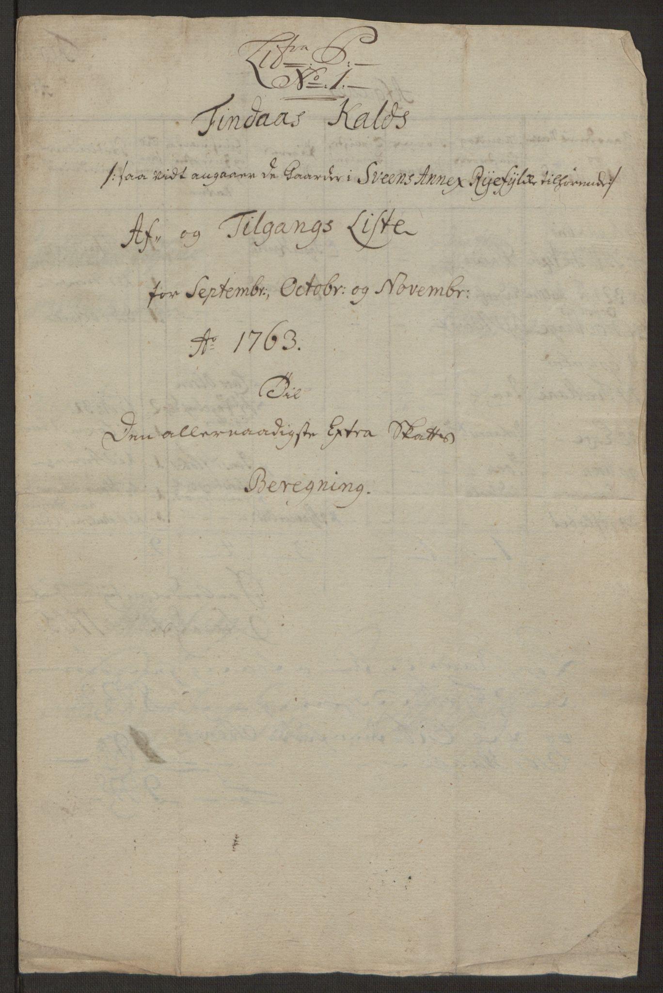 RA, Rentekammeret inntil 1814, Realistisk ordnet avdeling, Ol/L0016b: [Gg 10]: Ekstraskatten, 23.09.1762. Ryfylke, 1764-1768, s. 342