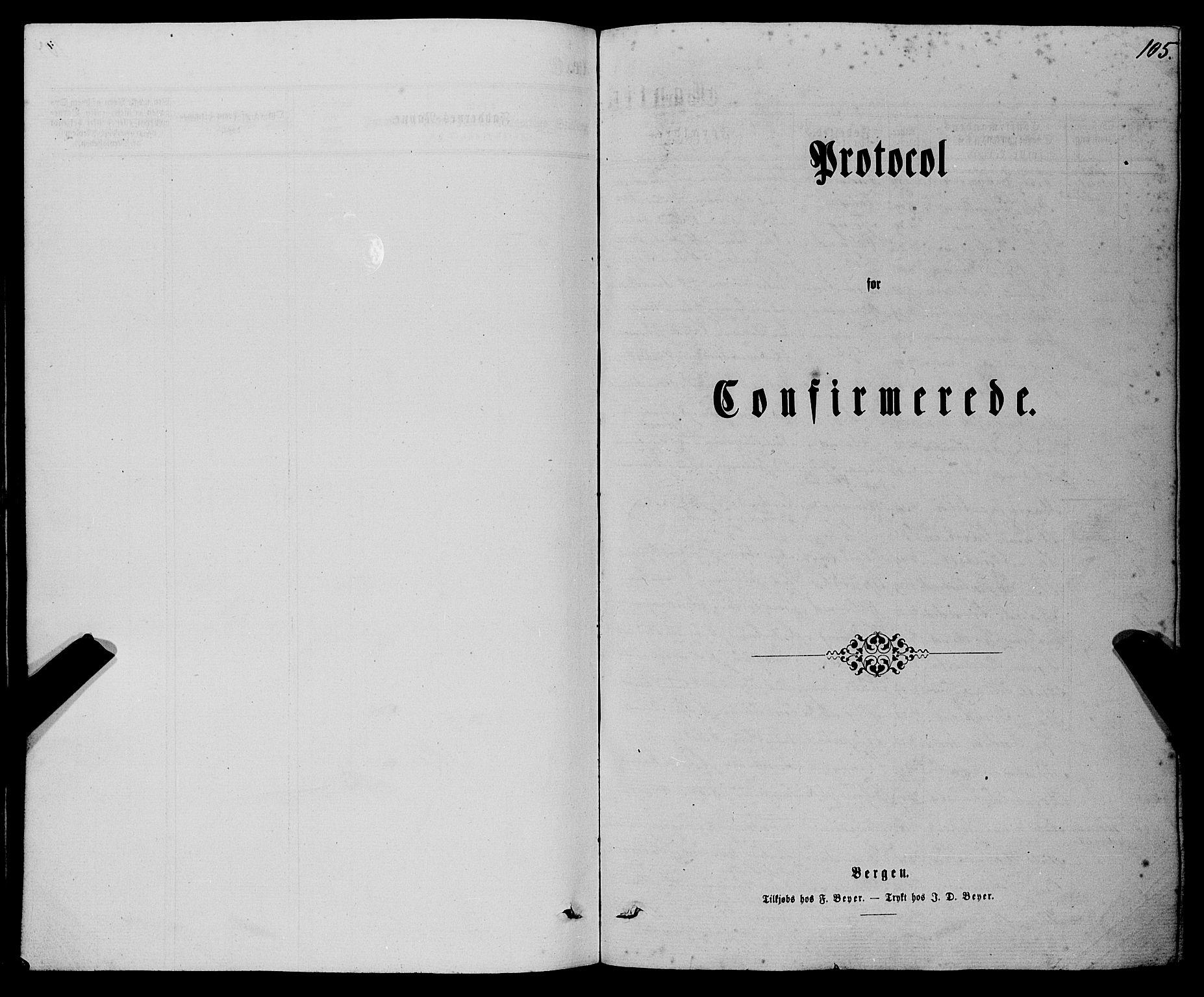 SAB, Finnås sokneprestembete, H/Ha/Haa/Haaa/L0008: Ministerialbok nr. A 8, 1863-1872, s. 105