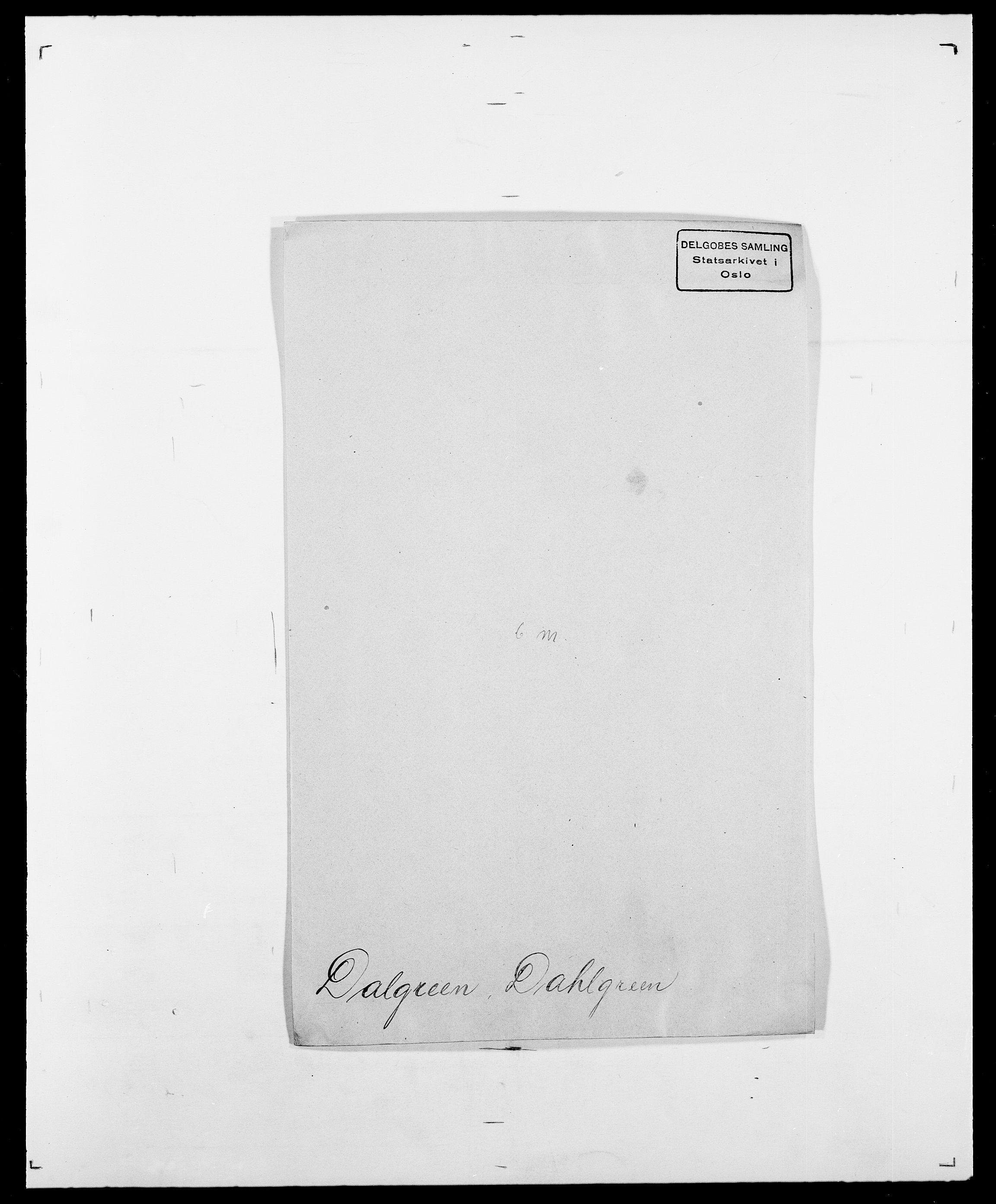 SAO, Delgobe, Charles Antoine - samling, D/Da/L0009: Dahl - v. Düren, s. 251