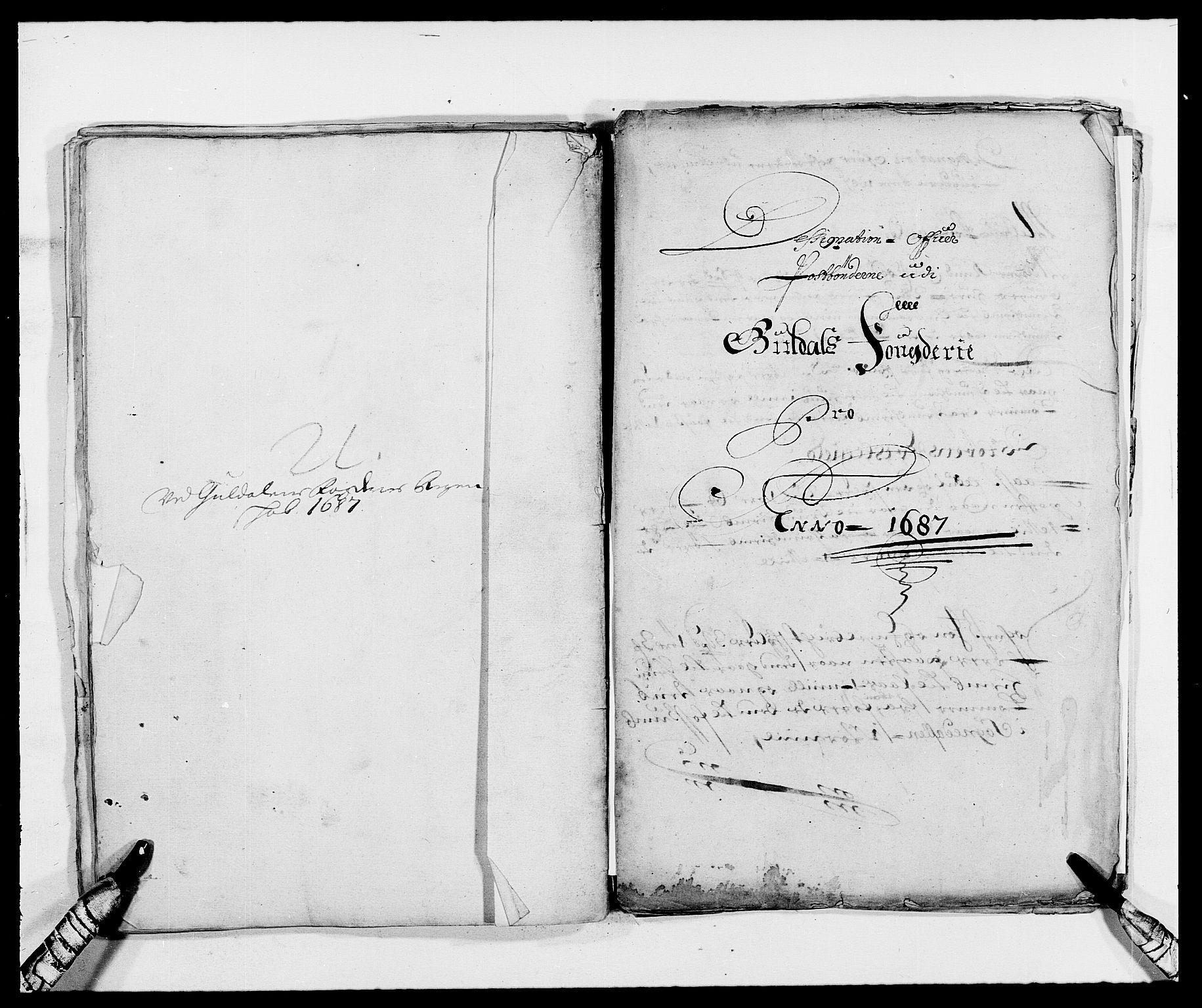 RA, Rentekammeret inntil 1814, Reviderte regnskaper, Fogderegnskap, R59/L3939: Fogderegnskap Gauldal, 1687-1688, s. 100