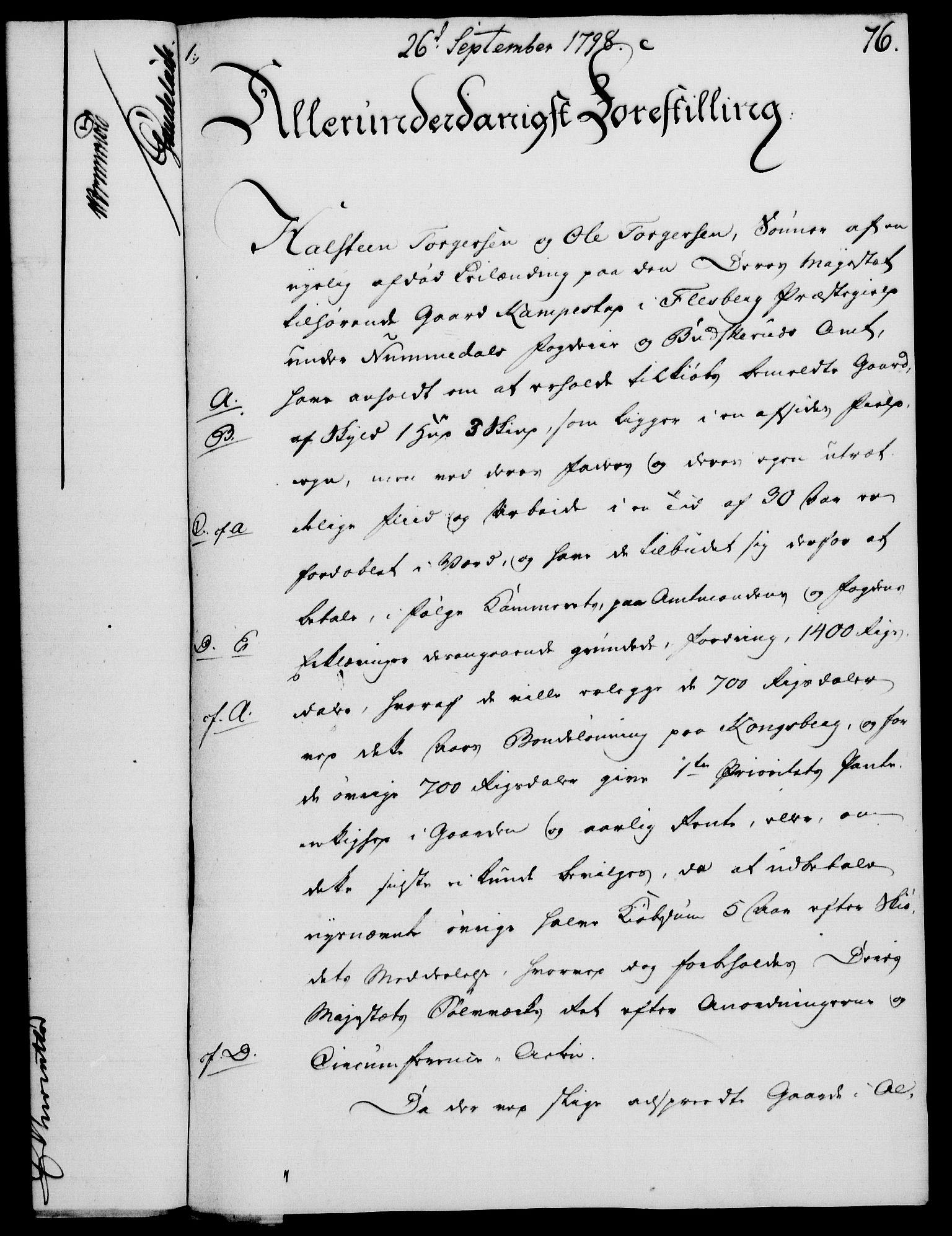 RA, Rentekammeret, Kammerkanselliet, G/Gf/Gfa/L0080: Norsk relasjons- og resolusjonsprotokoll (merket RK 52.80), 1798, s. 514