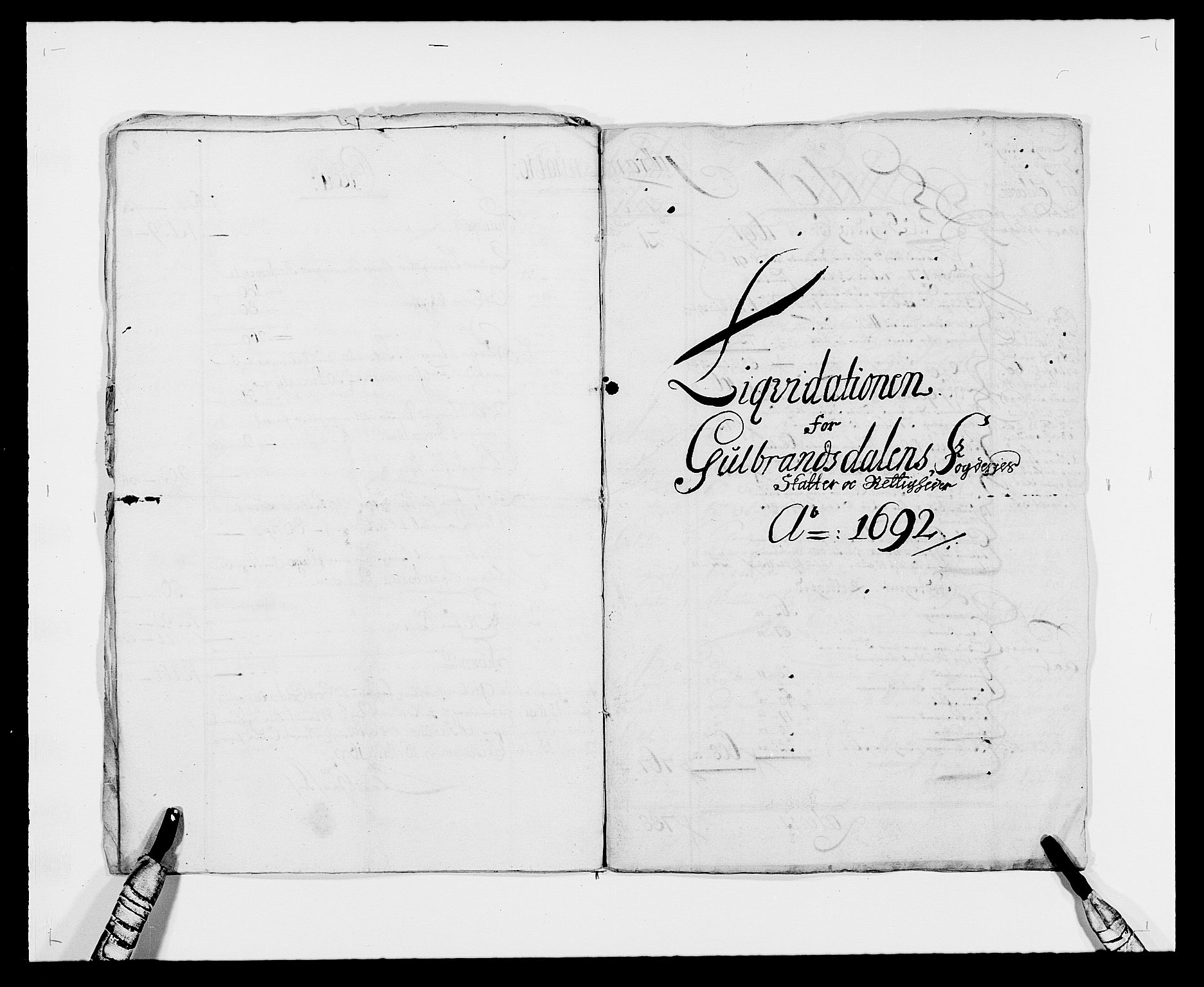 RA, Rentekammeret inntil 1814, Reviderte regnskaper, Fogderegnskap, R17/L1165: Fogderegnskap Gudbrandsdal, 1690-1692, s. 13