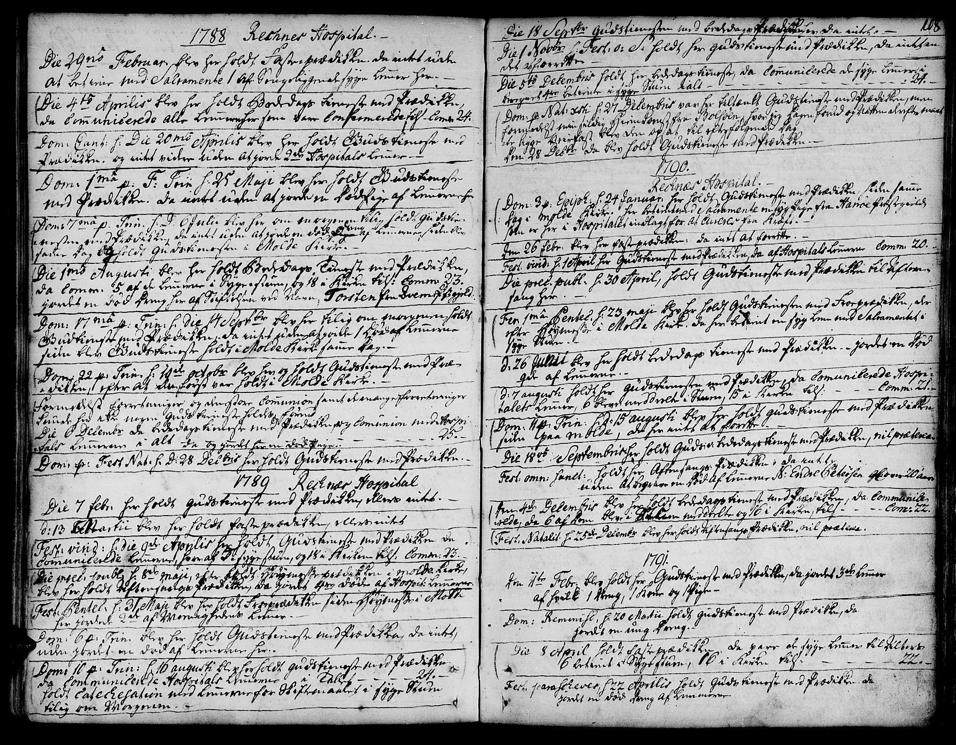 SAT, Ministerialprotokoller, klokkerbøker og fødselsregistre - Møre og Romsdal, 555/L0648: Ministerialbok nr. 555A01, 1759-1793, s. 108