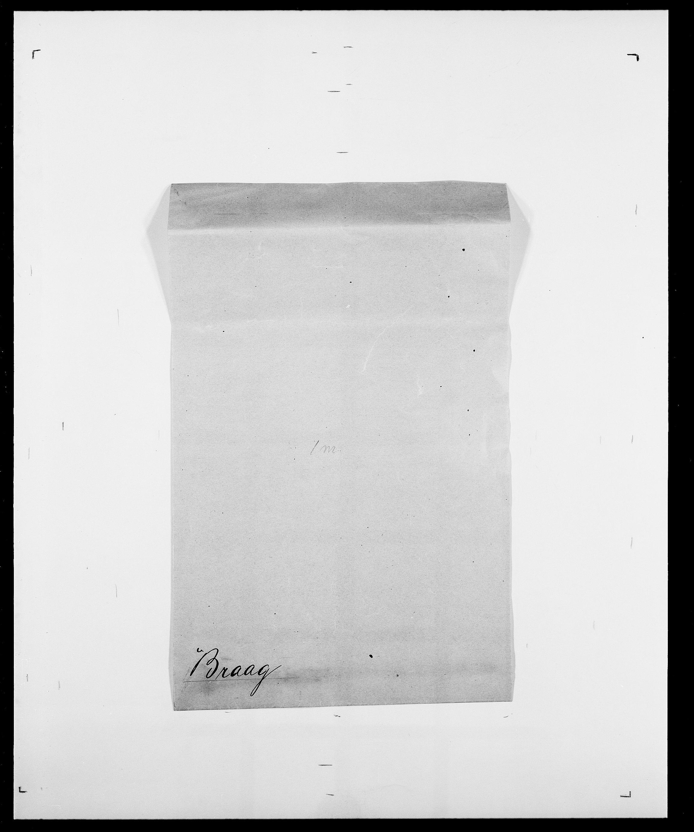 SAO, Delgobe, Charles Antoine - samling, D/Da/L0005: Boalth - Brahm, s. 419