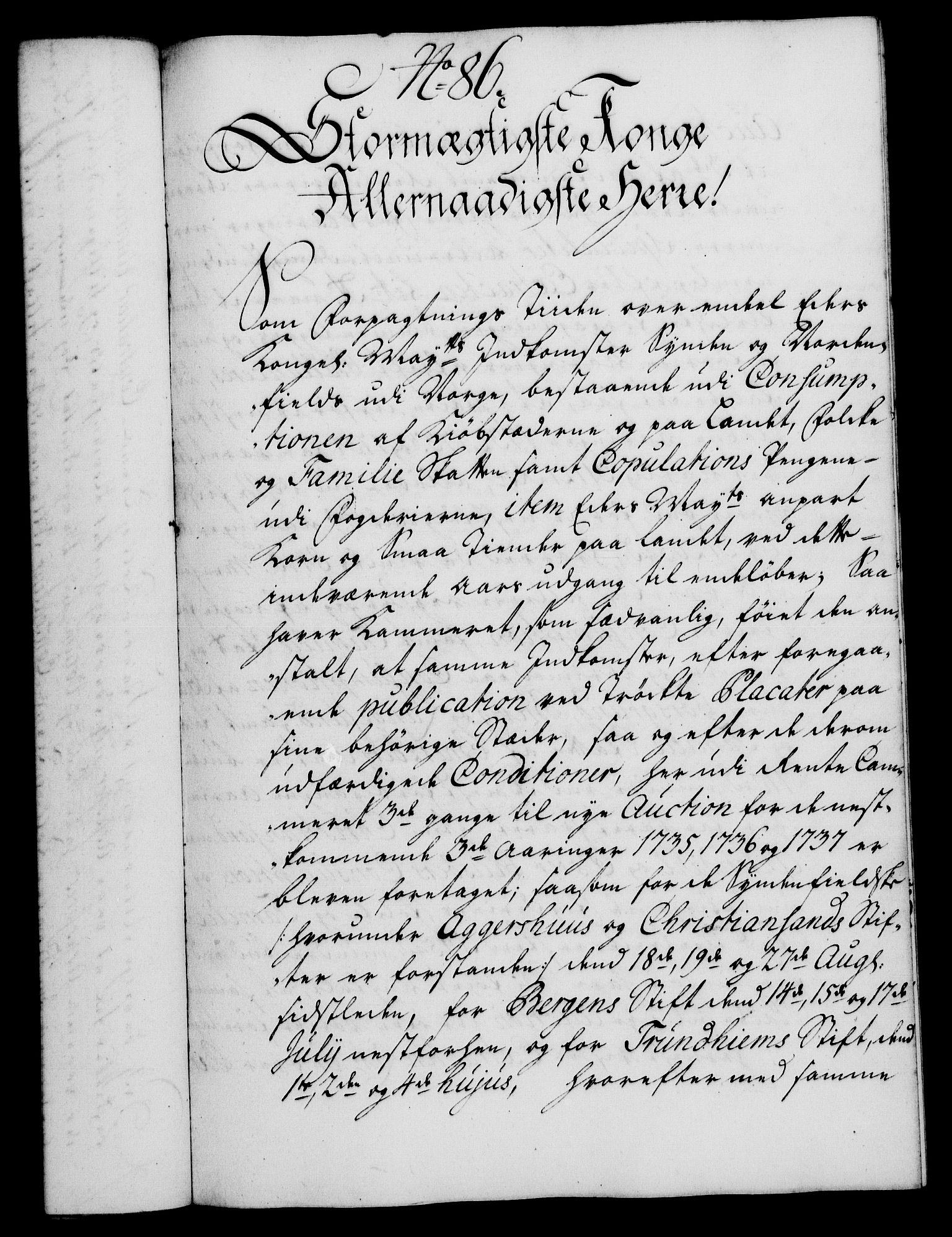 RA, Rentekammeret, Kammerkanselliet, G/Gf/Gfa/L0017: Norsk relasjons- og resolusjonsprotokoll (merket RK 52.17), 1734, s. 460