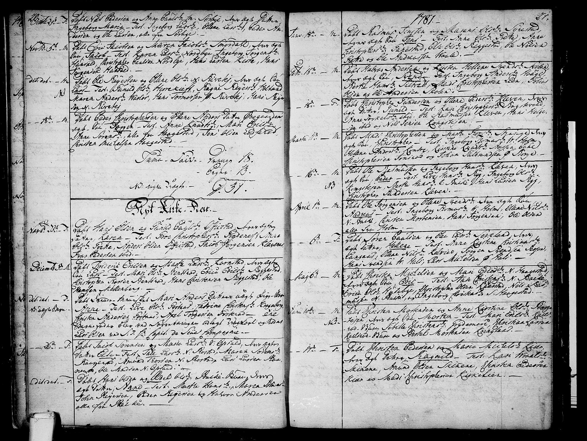 SAKO, Våle kirkebøker, F/Fa/L0005: Ministerialbok nr. I 5, 1773-1808, s. 20-21