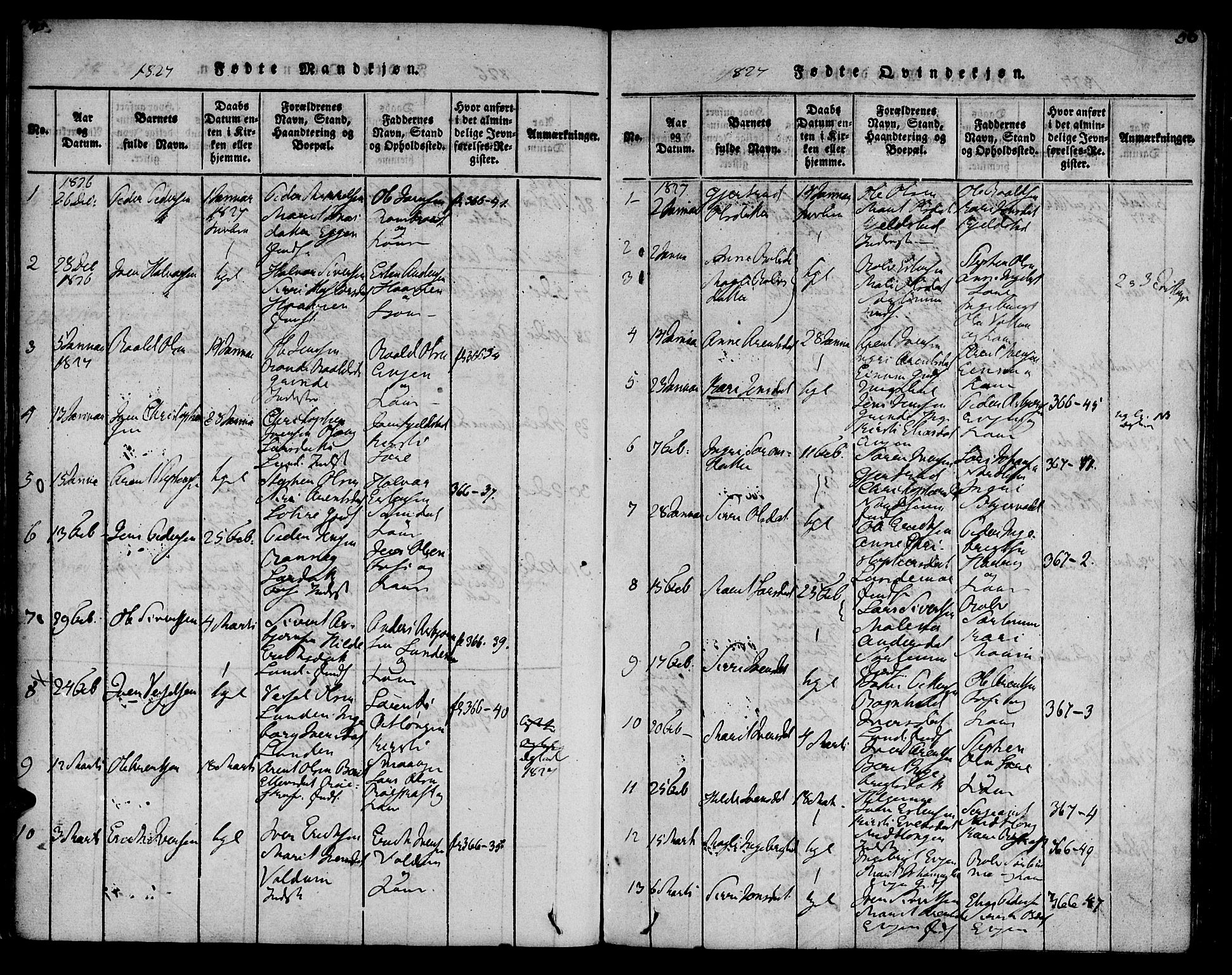 SAT, Ministerialprotokoller, klokkerbøker og fødselsregistre - Sør-Trøndelag, 692/L1102: Ministerialbok nr. 692A02, 1816-1842, s. 56