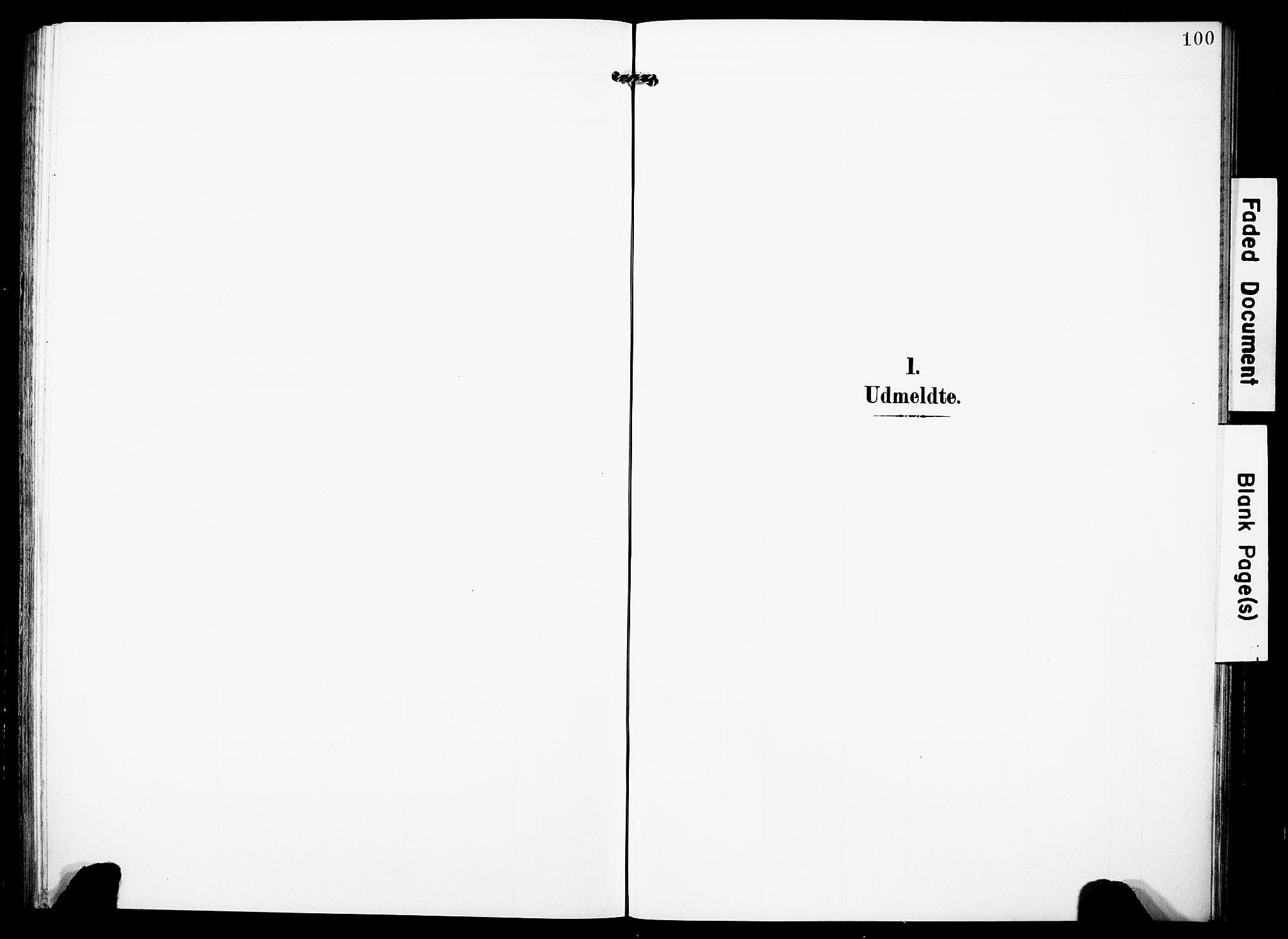 SAST, Torvastad sokneprestkontor, H/Ha/Haa/L0018: Ministerialbok nr. A 17, 1903-1925, s. 100