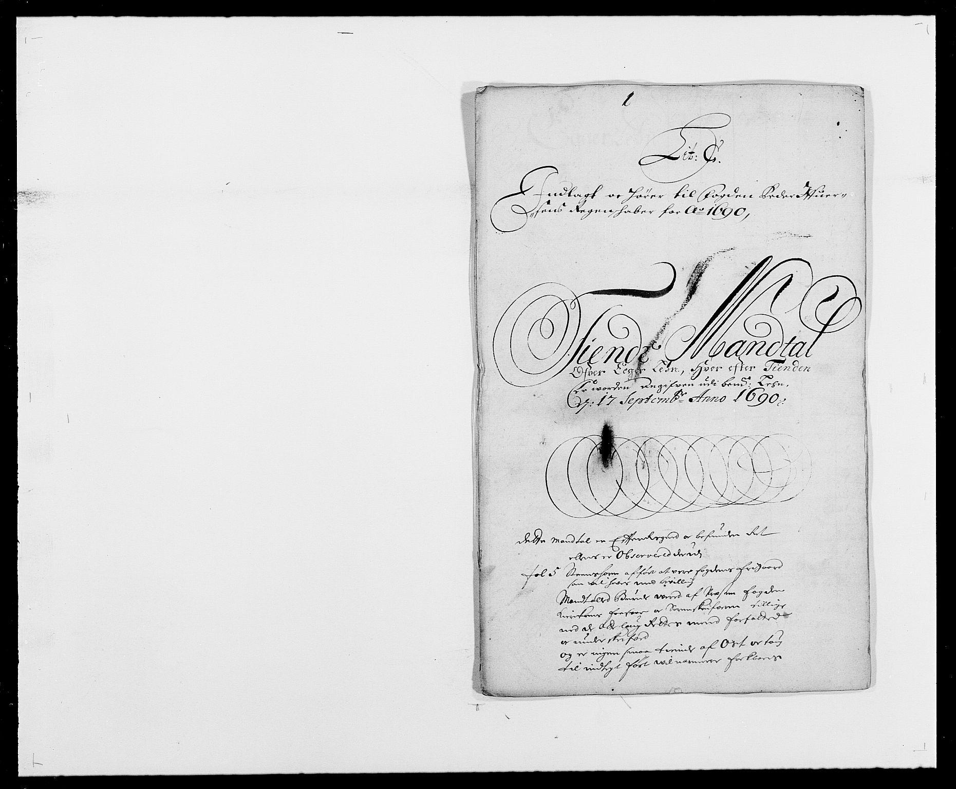 RA, Rentekammeret inntil 1814, Reviderte regnskaper, Fogderegnskap, R28/L1689: Fogderegnskap Eiker og Lier, 1690-1691, s. 23