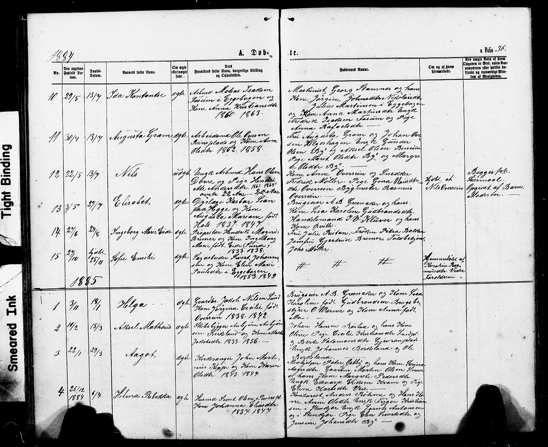 SAT, Ministerialprotokoller, klokkerbøker og fødselsregistre - Nord-Trøndelag, 740/L0380: Klokkerbok nr. 740C01, 1868-1902, s. 36