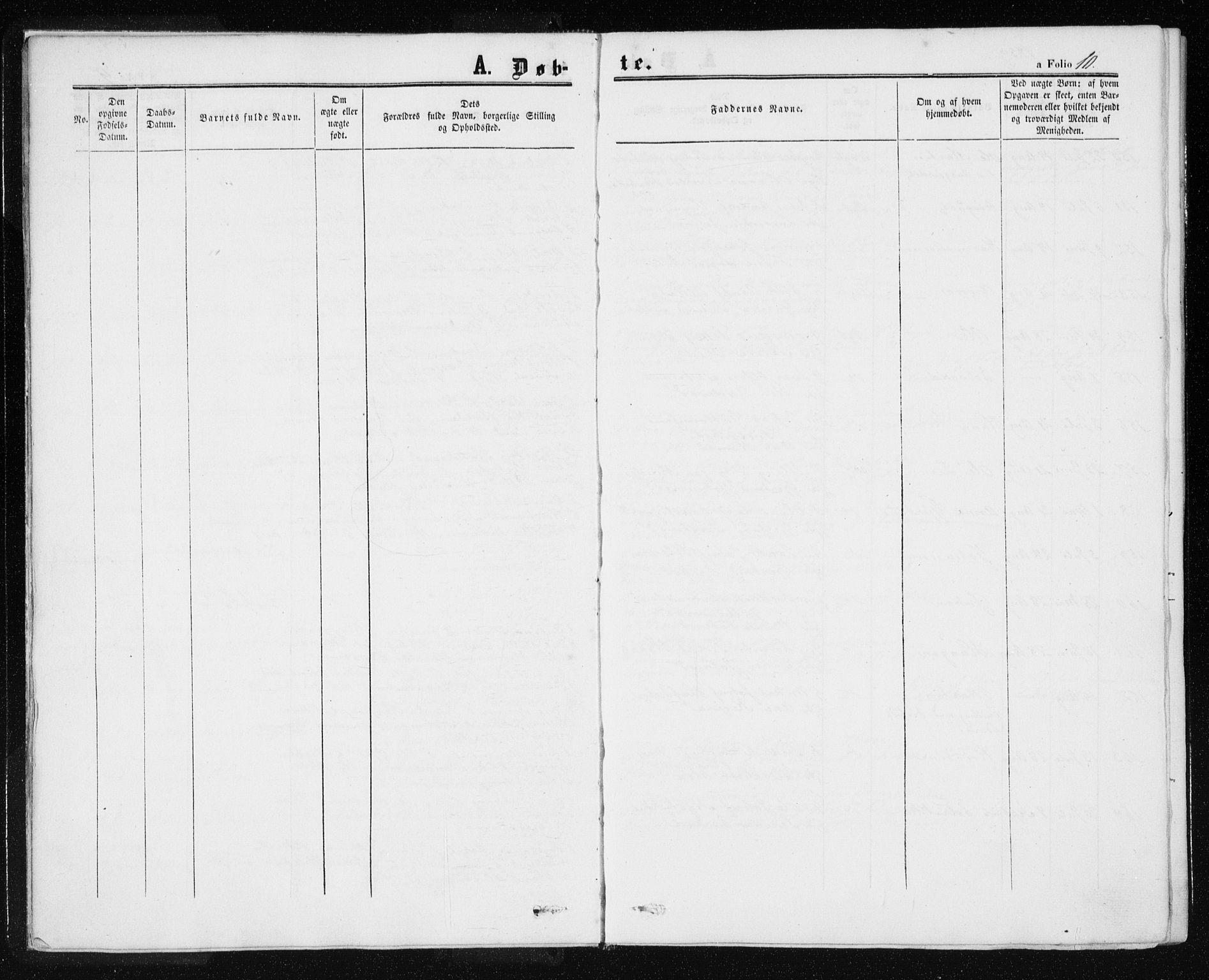 SAT, Ministerialprotokoller, klokkerbøker og fødselsregistre - Nord-Trøndelag, 709/L0075: Ministerialbok nr. 709A15, 1859-1870, s. 10