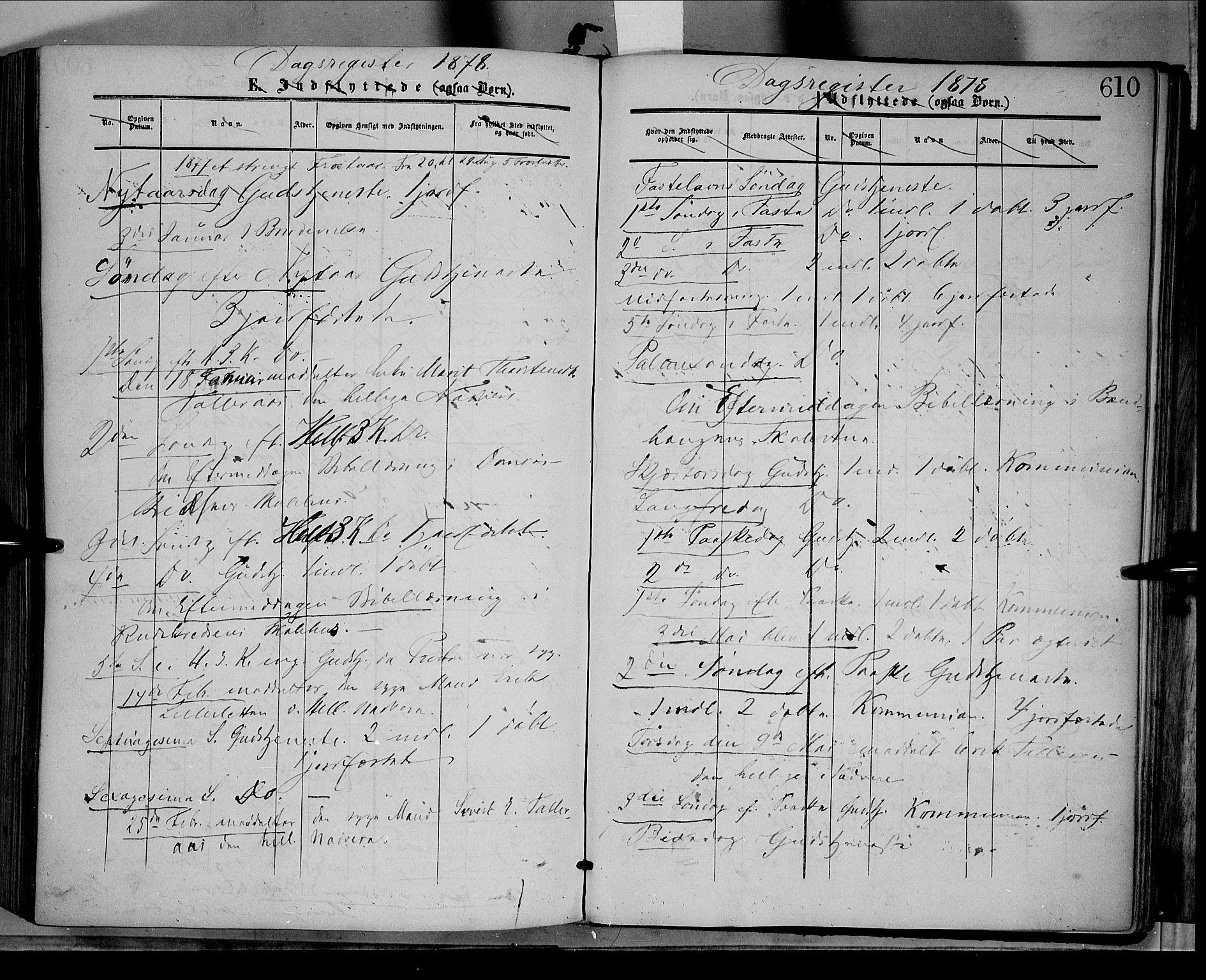 SAH, Dovre prestekontor, Ministerialbok nr. 1, 1854-1878, s. 610