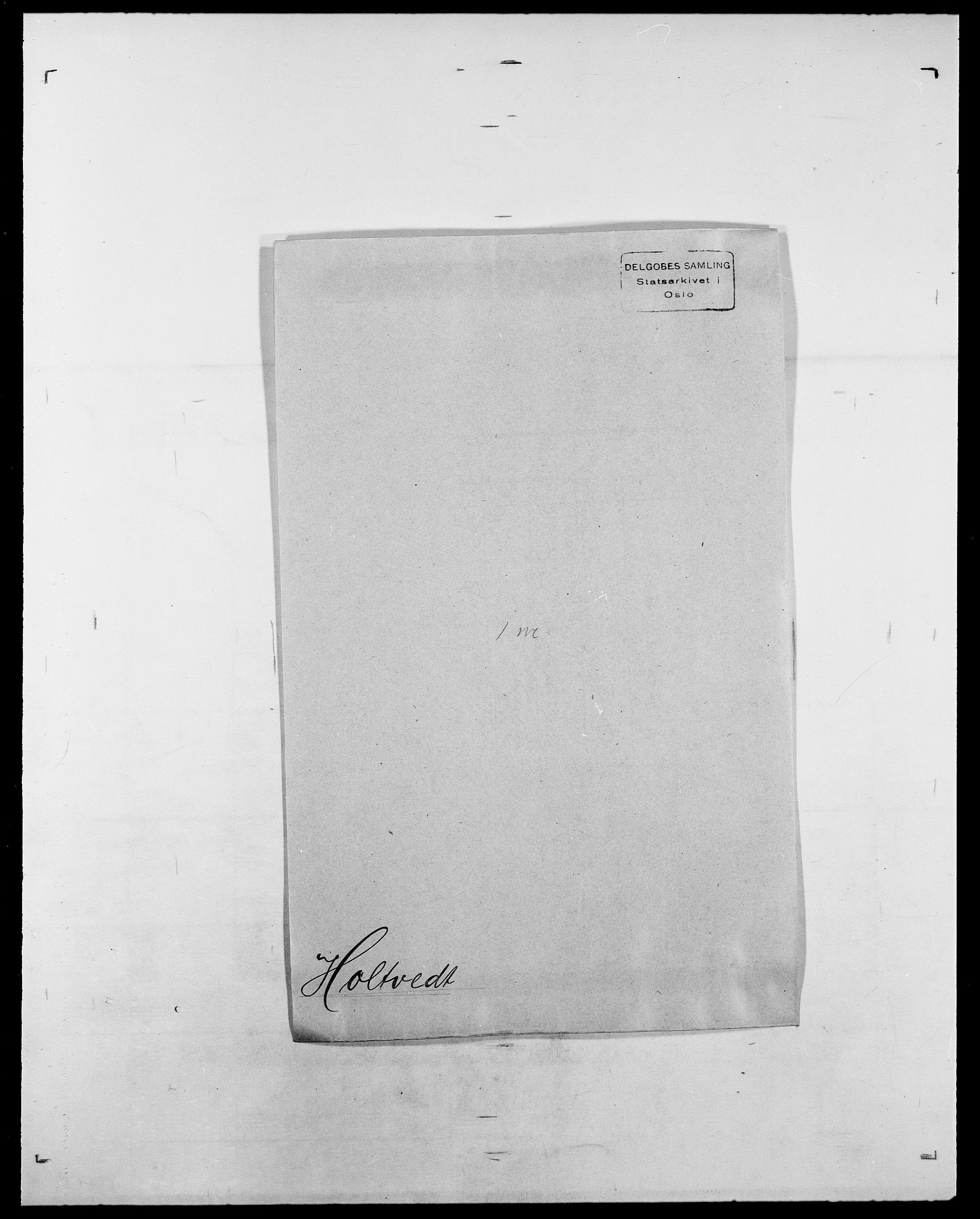 SAO, Delgobe, Charles Antoine - samling, D/Da/L0018: Hoch - Howert, s. 881