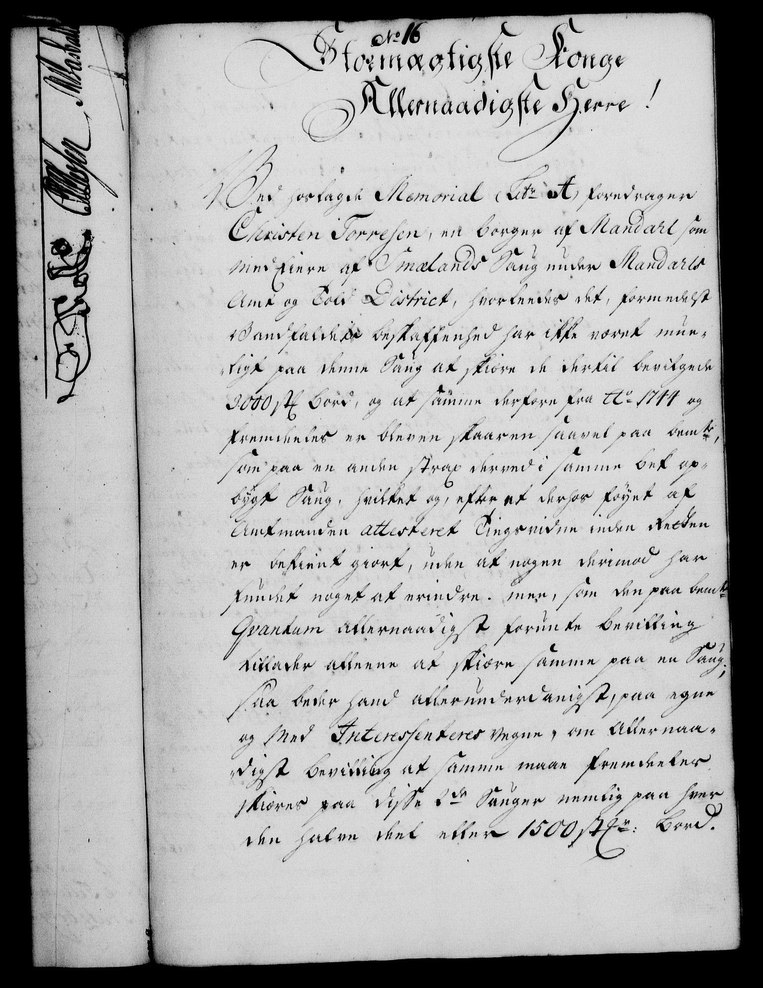 RA, Rentekammeret, Kammerkanselliet, G/Gf/Gfa/L0036: Norsk relasjons- og resolusjonsprotokoll (merket RK 52.36), 1754, s. 87