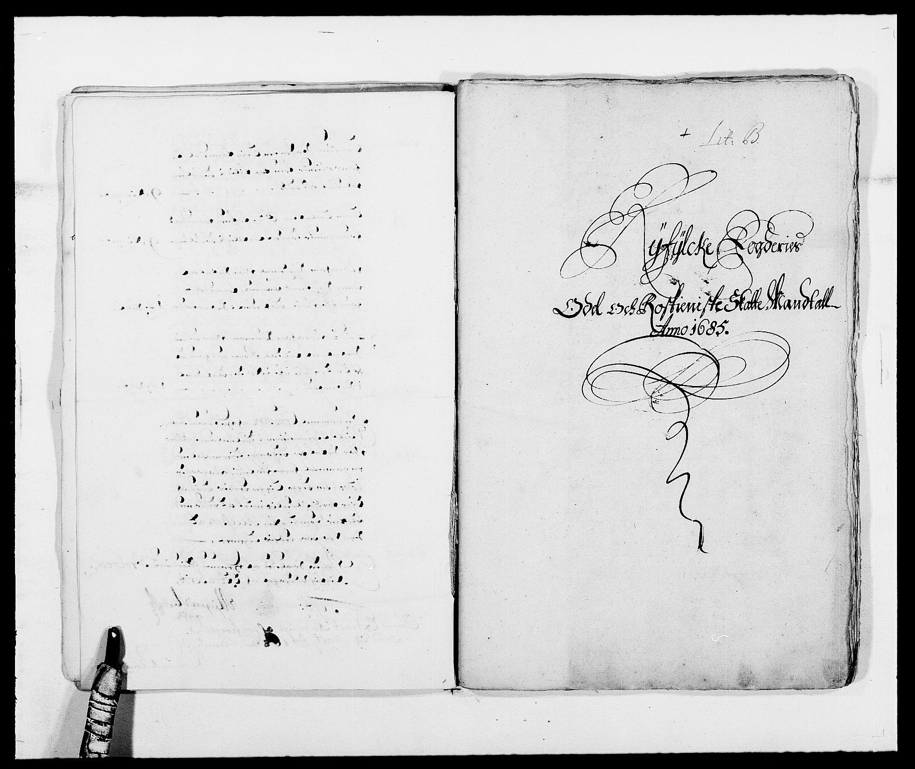 RA, Rentekammeret inntil 1814, Reviderte regnskaper, Fogderegnskap, R47/L2855: Fogderegnskap Ryfylke, 1685-1688, s. 13
