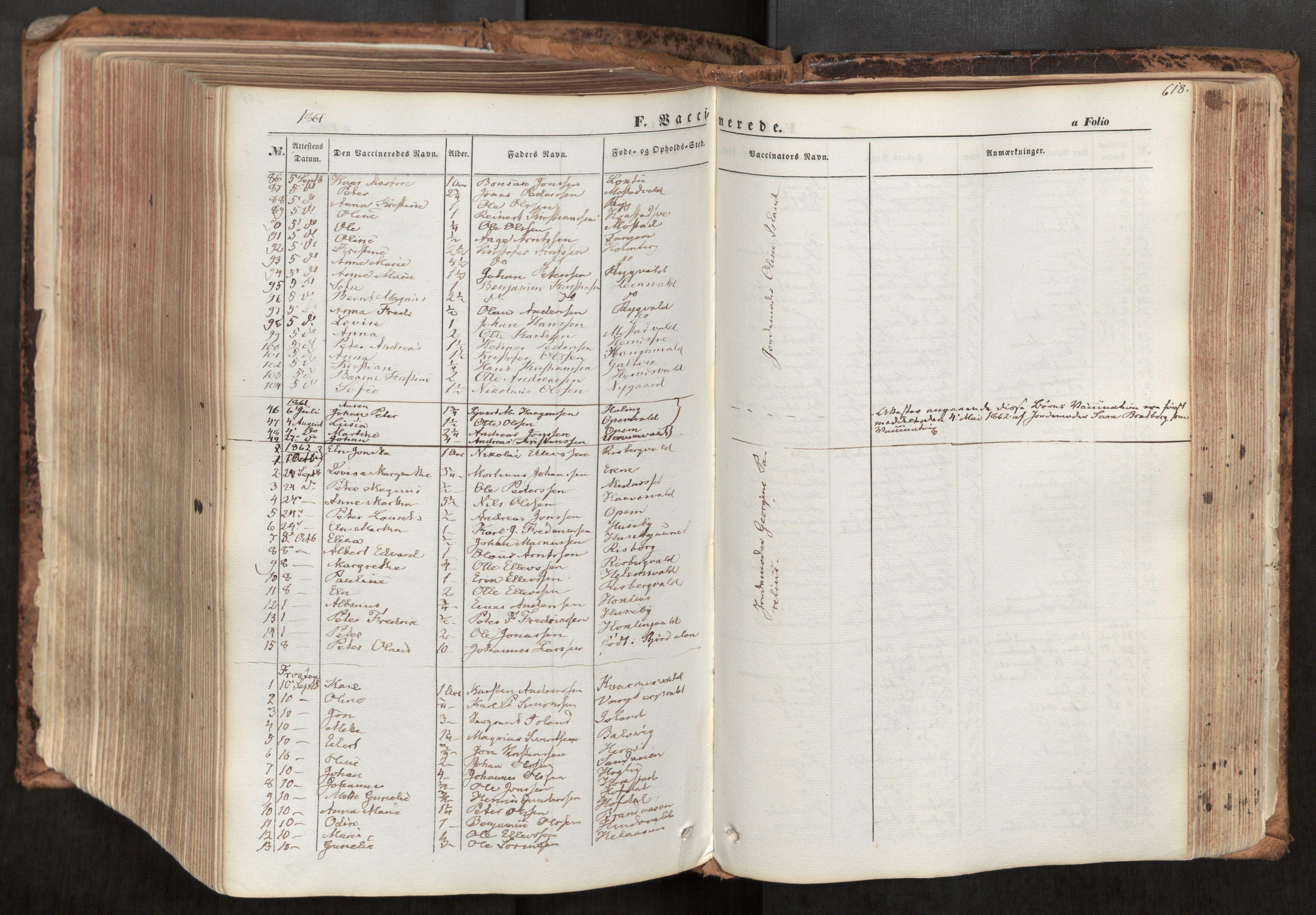 SAT, Ministerialprotokoller, klokkerbøker og fødselsregistre - Nord-Trøndelag, 713/L0116: Ministerialbok nr. 713A07, 1850-1877, s. 618