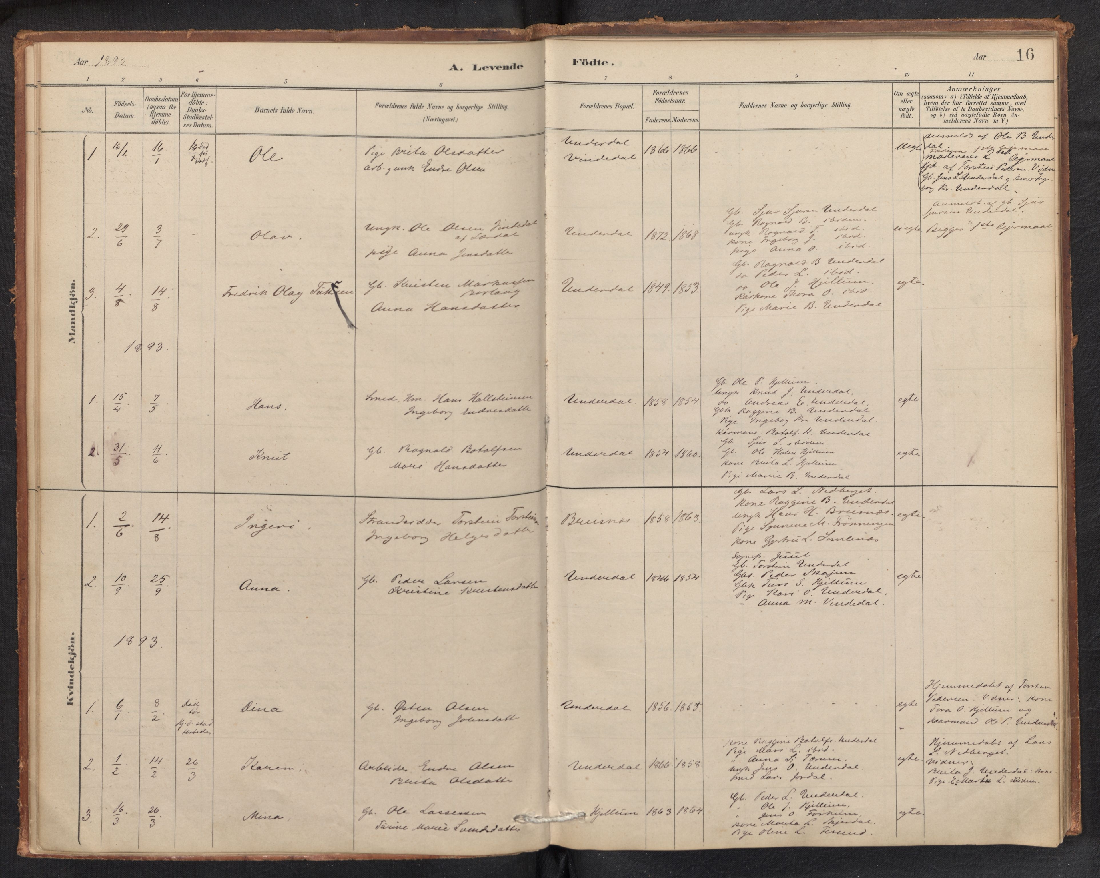 SAB, Aurland Sokneprestembete*, Ministerialbok nr. E 1, 1880-1907, s. 15b-16a