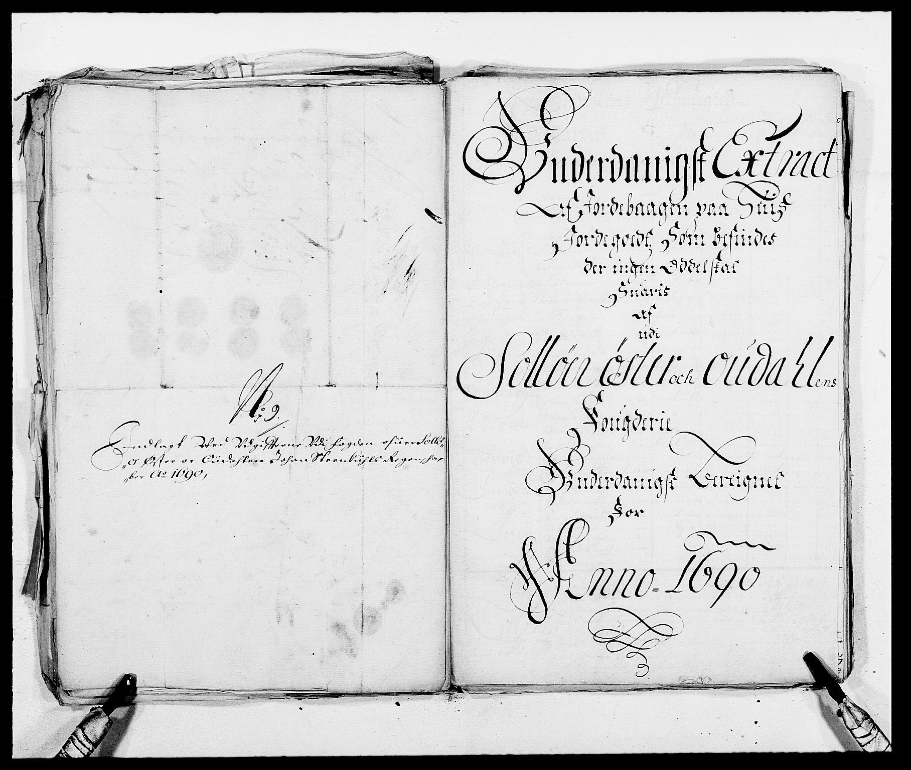 RA, Rentekammeret inntil 1814, Reviderte regnskaper, Fogderegnskap, R13/L0828: Fogderegnskap Solør, Odal og Østerdal, 1690, s. 326