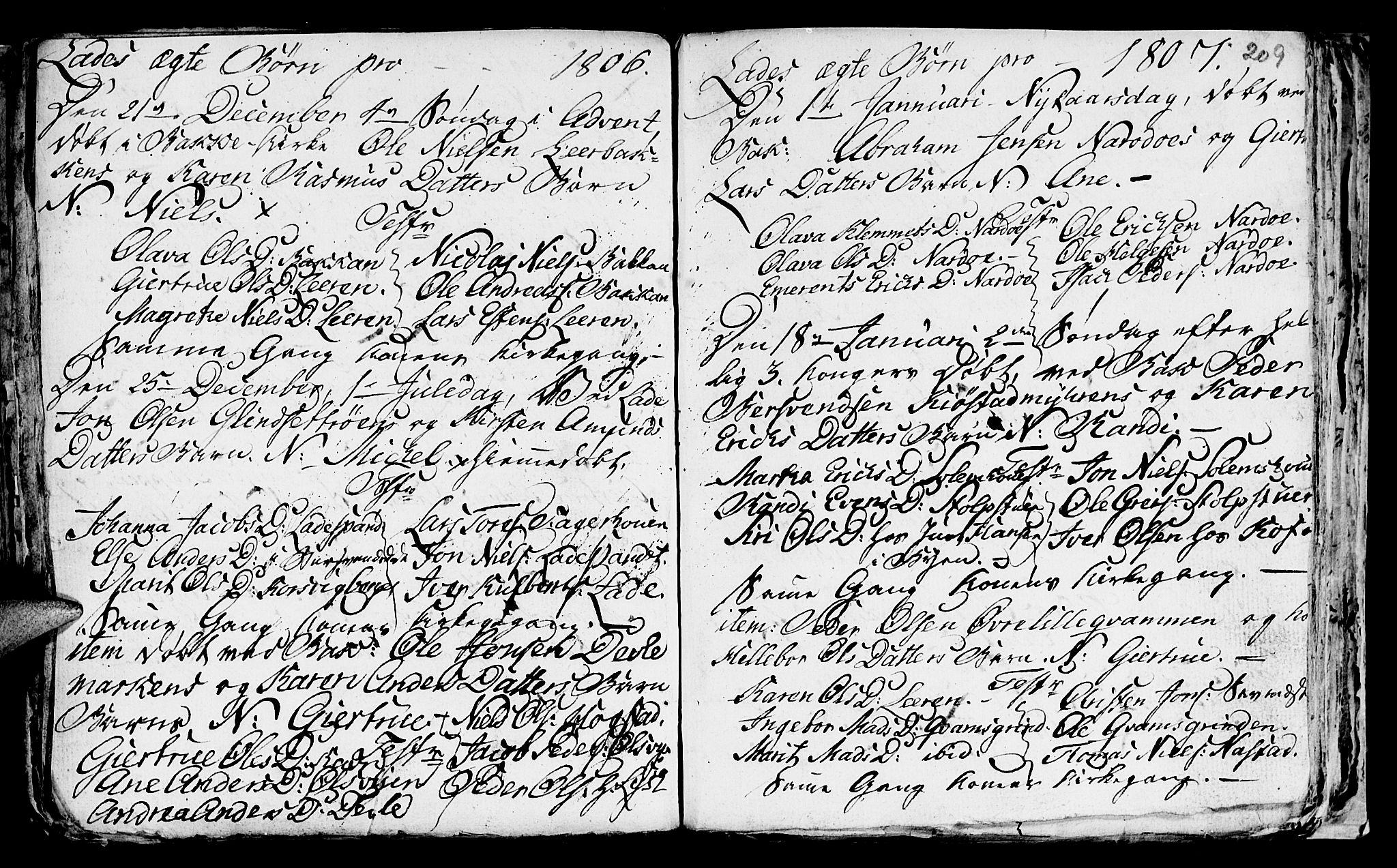 SAT, Ministerialprotokoller, klokkerbøker og fødselsregistre - Sør-Trøndelag, 606/L0305: Klokkerbok nr. 606C01, 1757-1819, s. 209