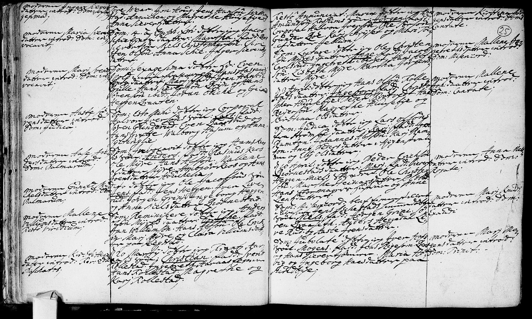 SAKO, Røyken kirkebøker, F/Fa/L0002: Ministerialbok nr. 2, 1731-1782, s. 25