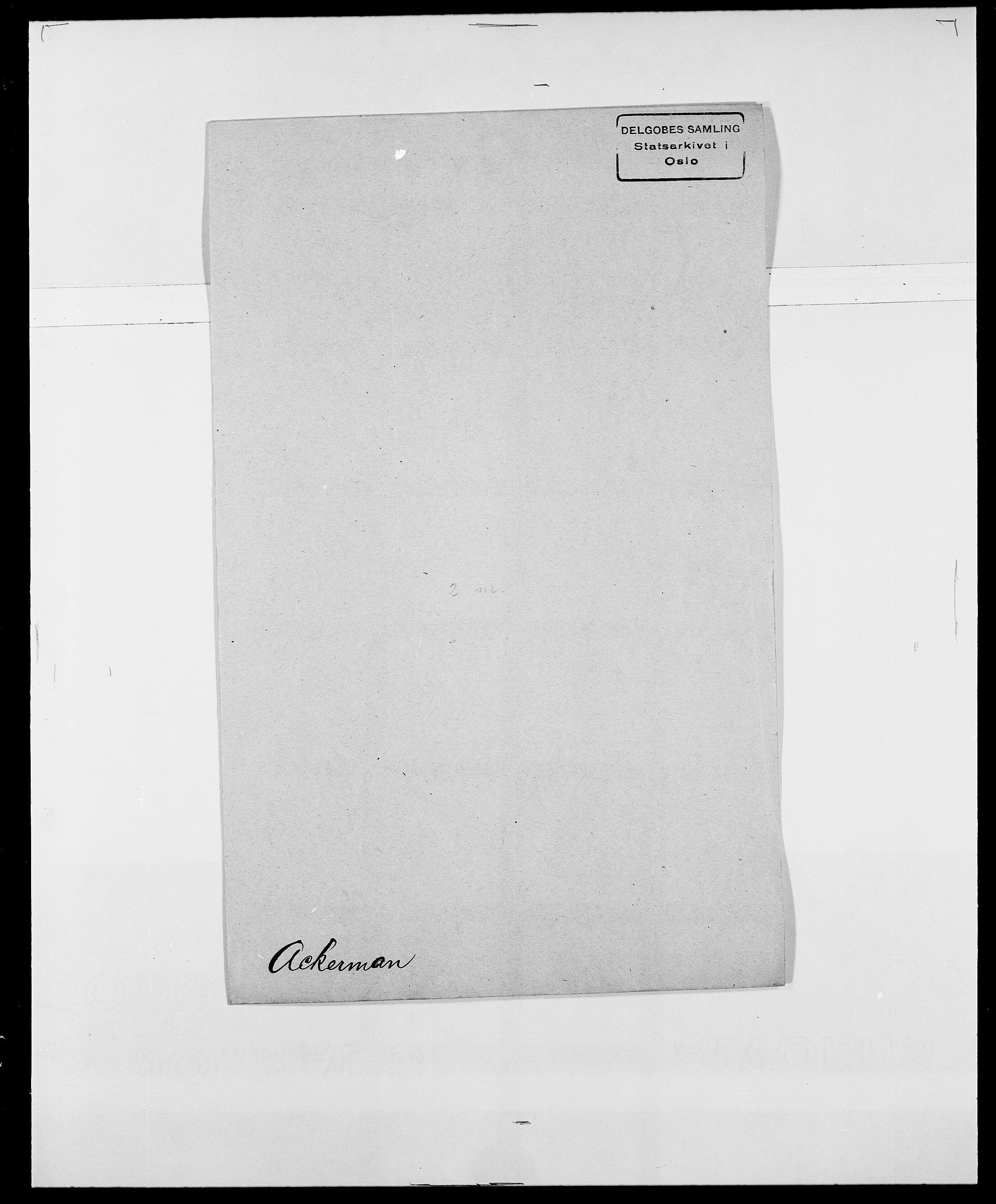 SAO, Delgobe, Charles Antoine - samling, D/Da/L0001: Aabye - Angerman, s. 241