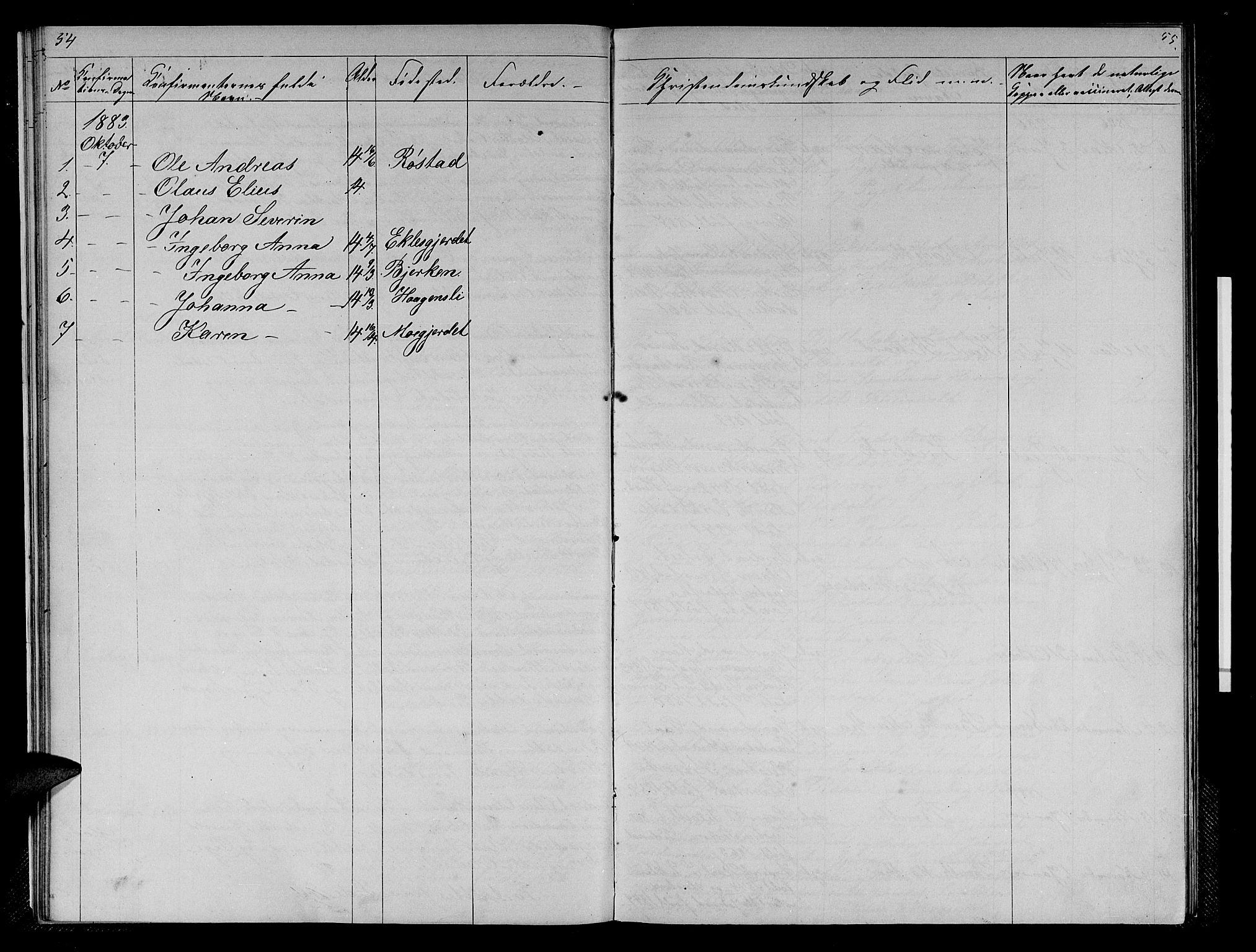 SAT, Ministerialprotokoller, klokkerbøker og fødselsregistre - Sør-Trøndelag, 608/L0340: Klokkerbok nr. 608C06, 1864-1889, s. 54-55