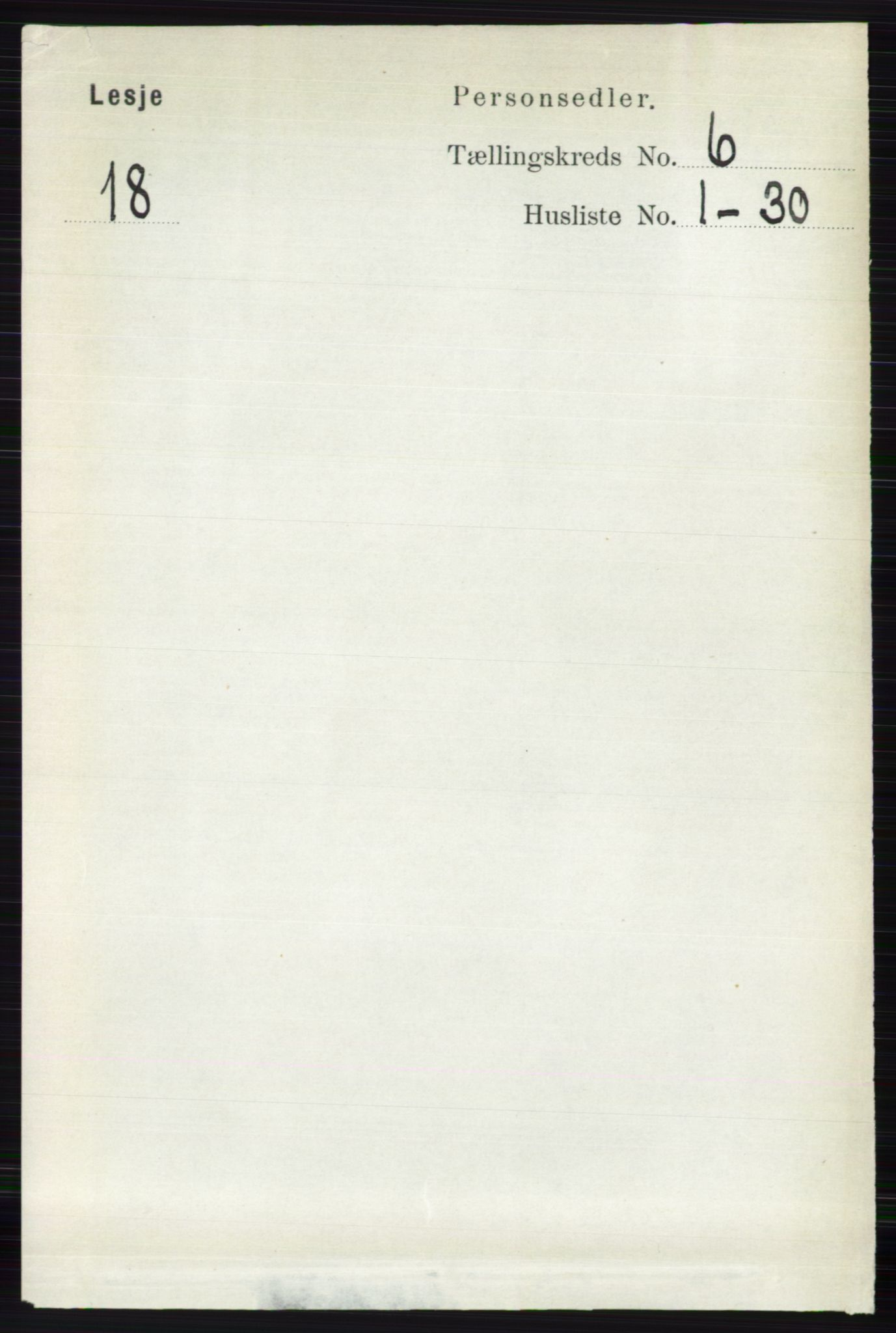 RA, Folketelling 1891 for 0512 Lesja herred, 1891, s. 2142