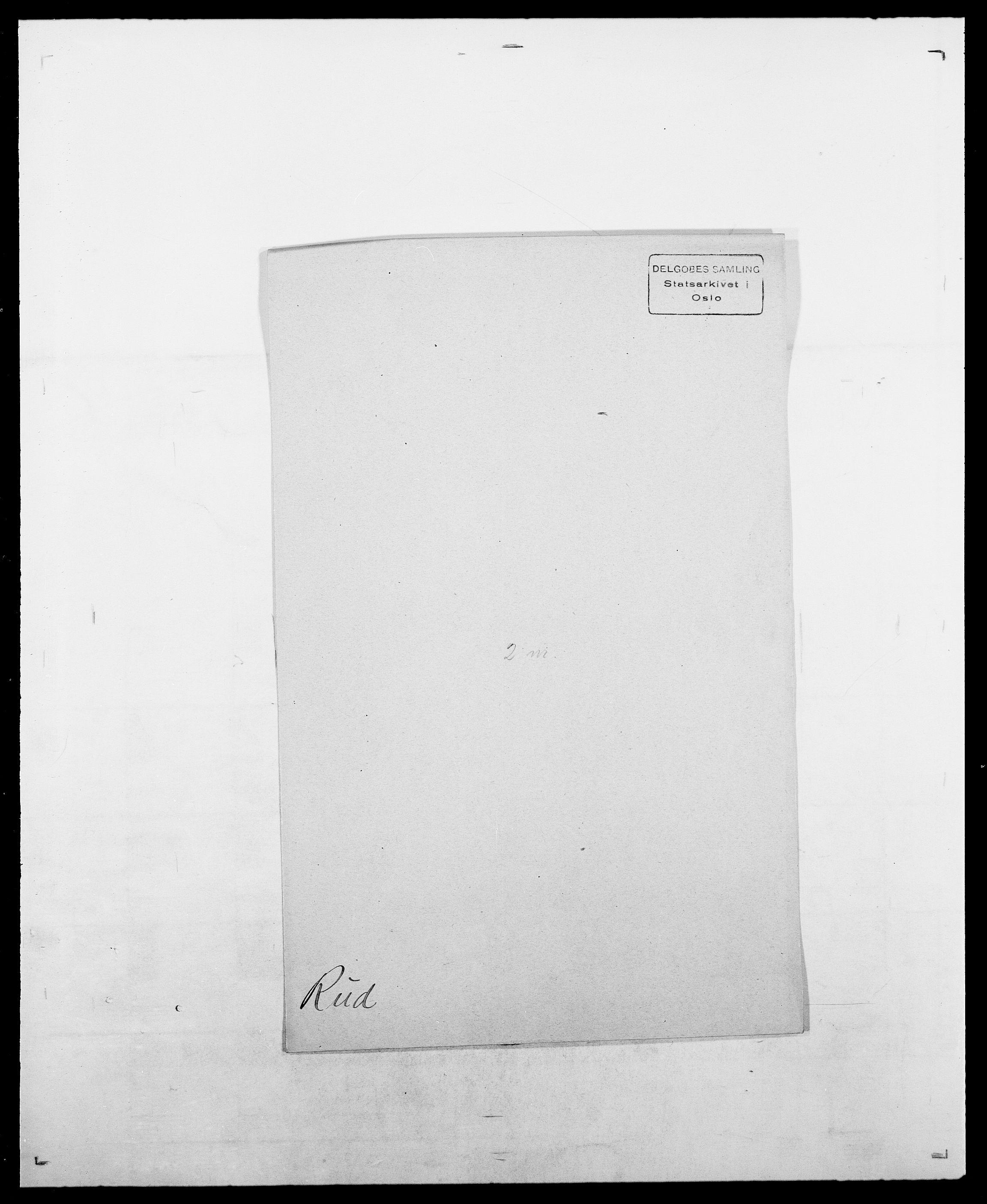 SAO, Delgobe, Charles Antoine - samling, D/Da/L0033: Roald - Røyem, s. 419