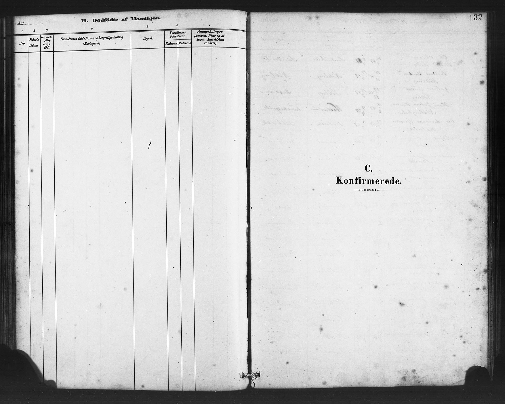 SAB, Finnås sokneprestembete, H/Ha/Haa/Haac/L0001: Ministerialbok nr. C 1, 1881-1894, s. 132