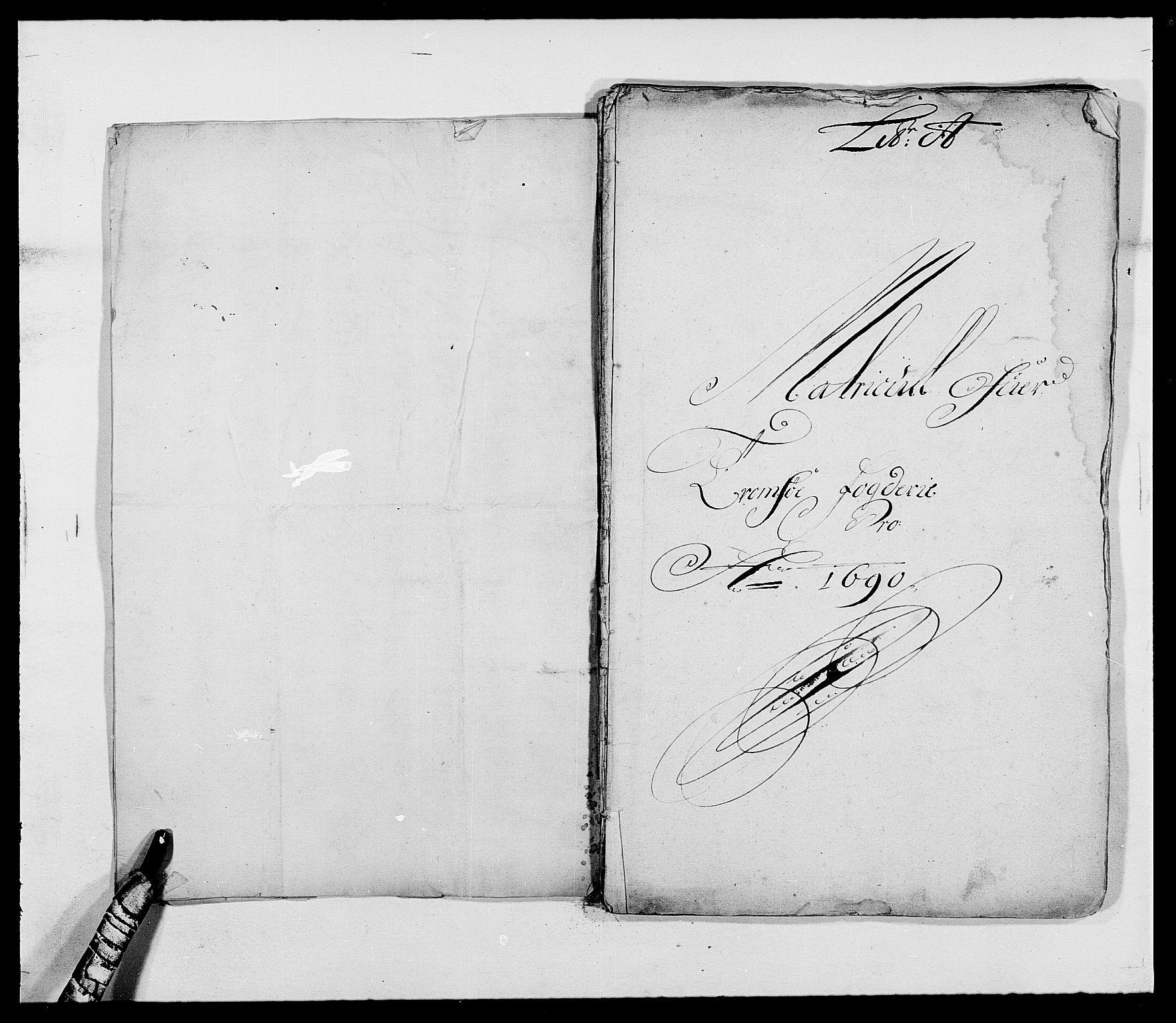 RA, Rentekammeret inntil 1814, Reviderte regnskaper, Fogderegnskap, R68/L4751: Fogderegnskap Senja og Troms, 1690-1693, s. 8