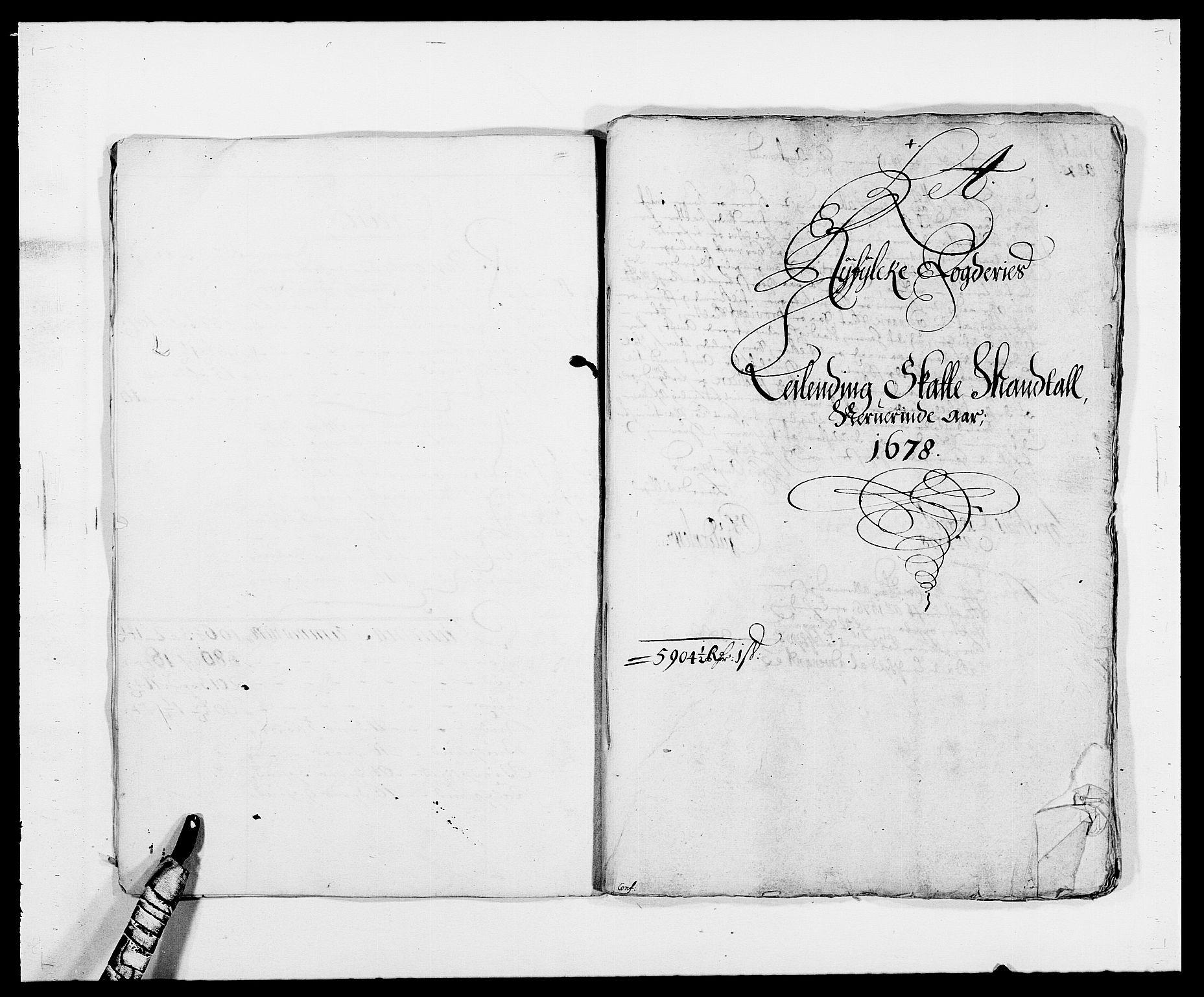 RA, Rentekammeret inntil 1814, Reviderte regnskaper, Fogderegnskap, R47/L2848: Fogderegnskap Ryfylke, 1678, s. 63