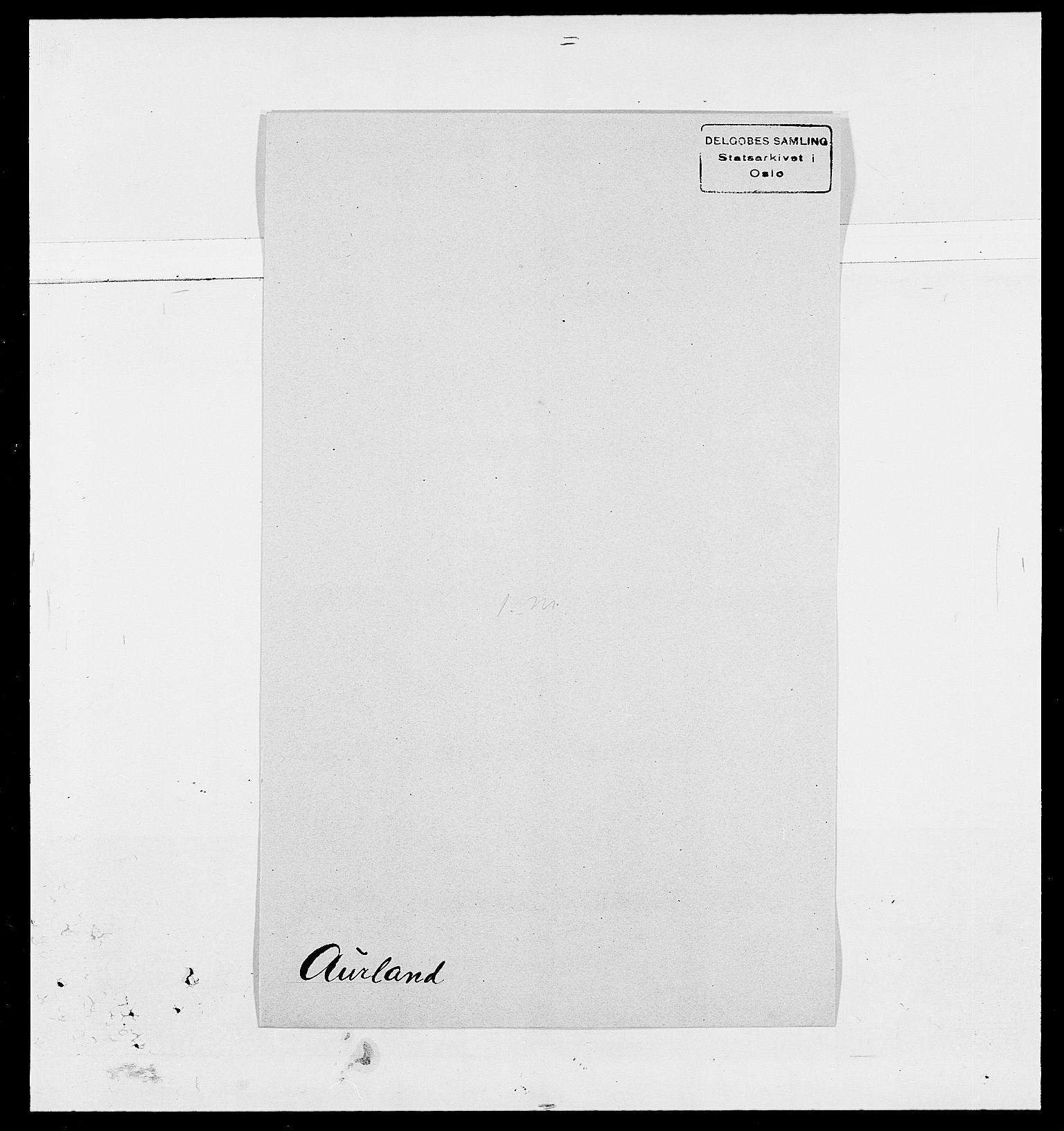 SAO, Delgobe, Charles Antoine - samling, D/Da/L0002: Anker, Ancher - Bauner, s. 521