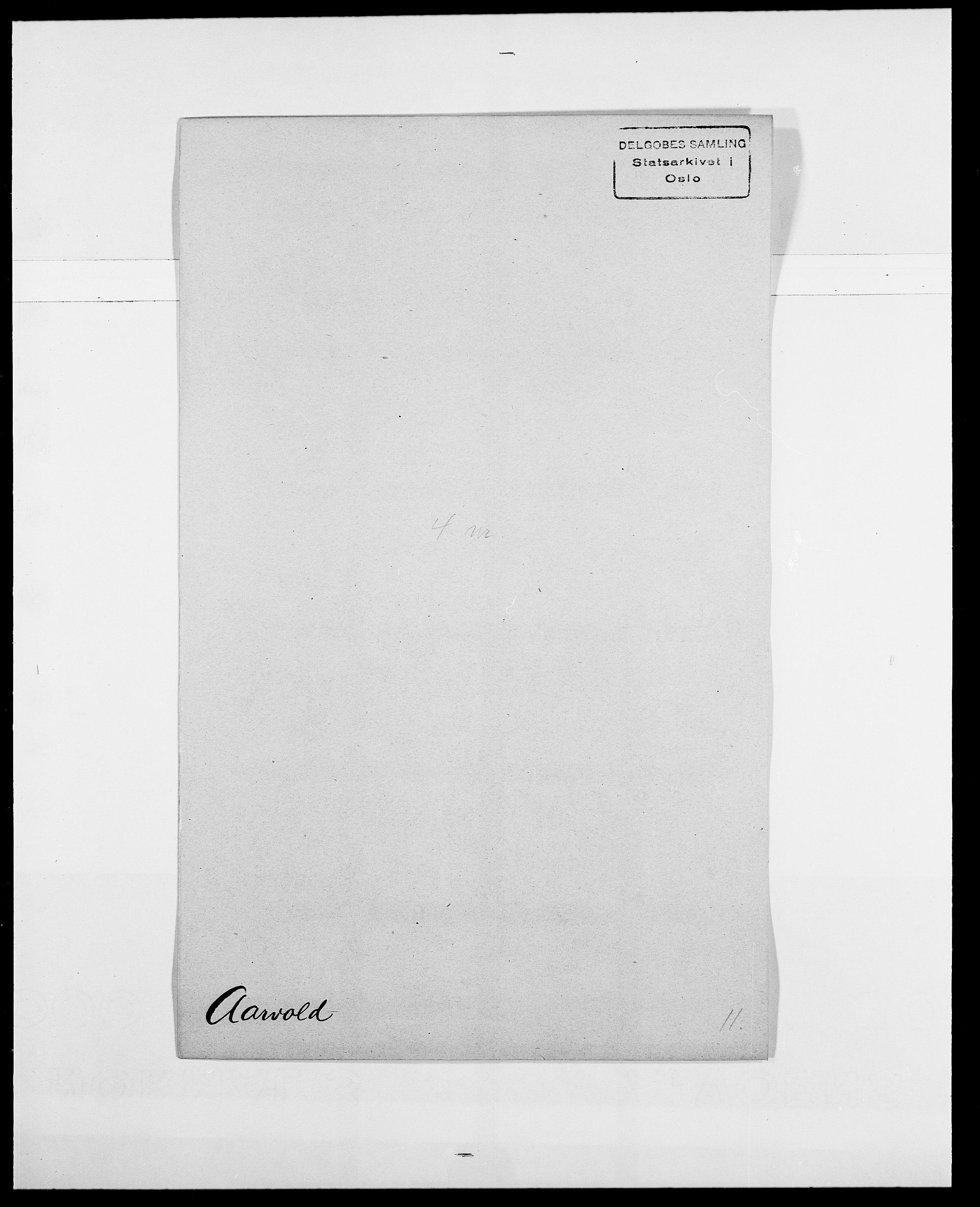 SAO, Delgobe, Charles Antoine - samling, D/Da/L0001: Aabye - Angerman, s. 119