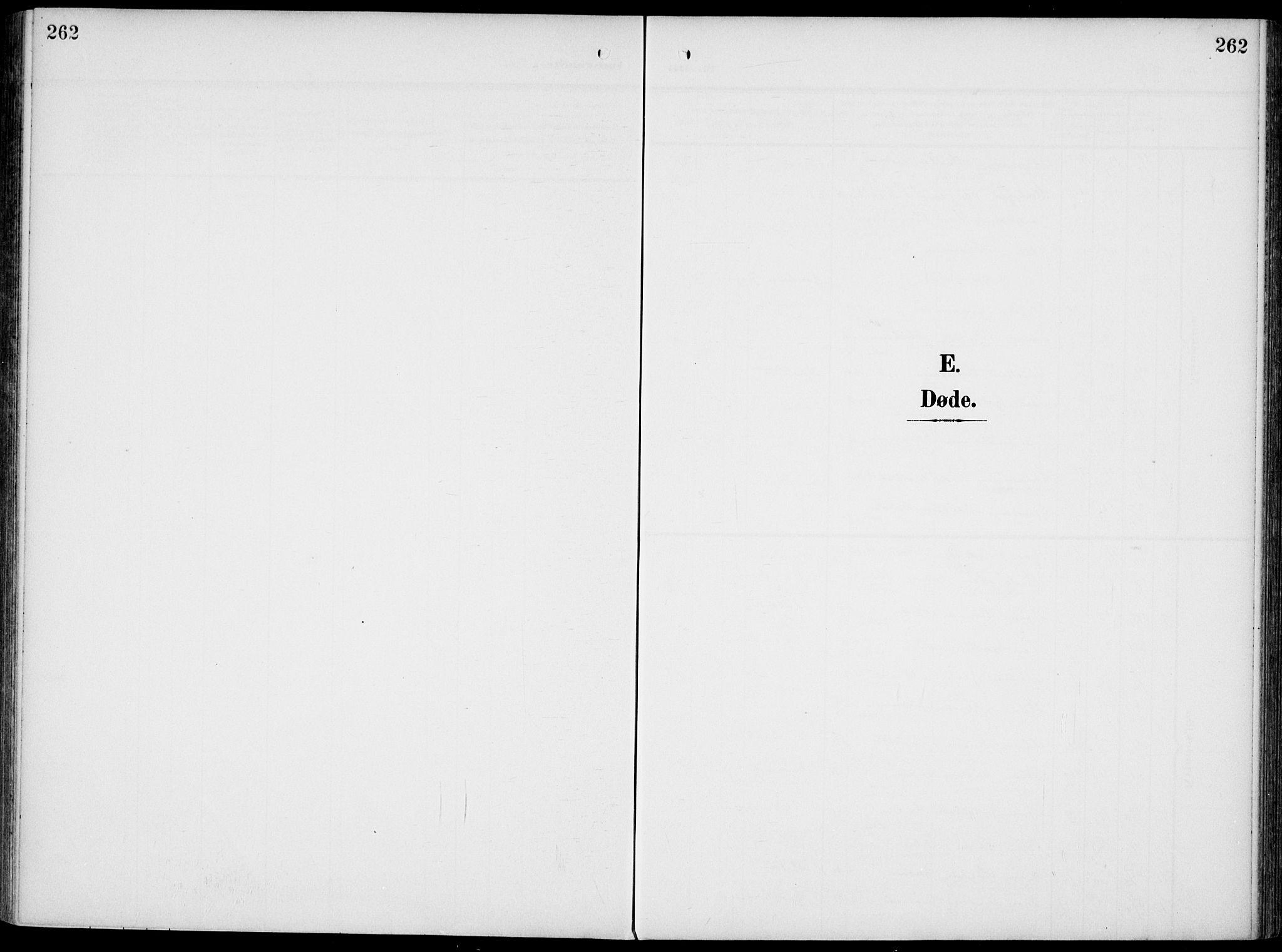 SAKO, Gjerpen kirkebøker, F/Fa/L0012: Ministerialbok nr. 12, 1905-1913, s. 262