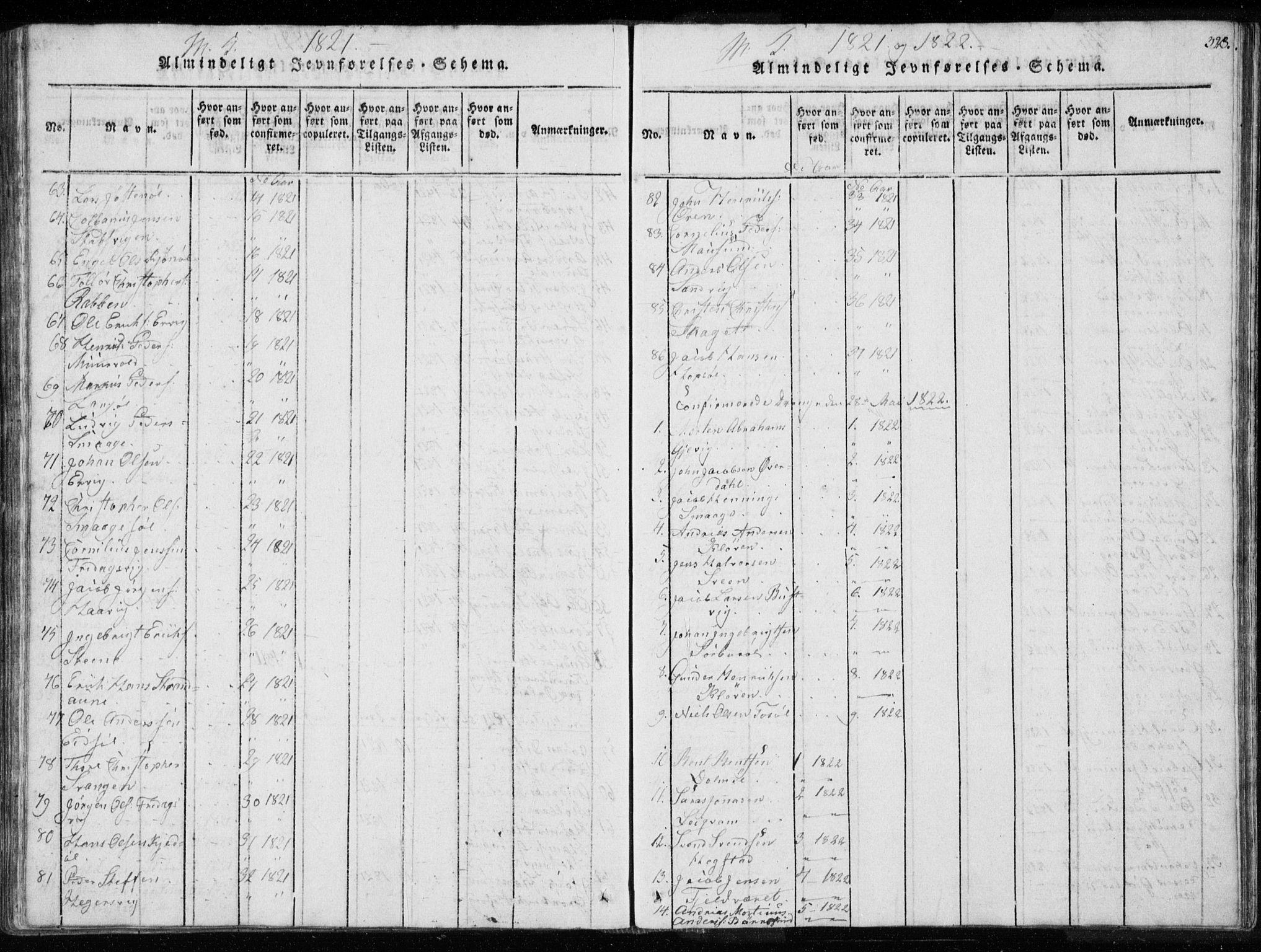 SAT, Ministerialprotokoller, klokkerbøker og fødselsregistre - Sør-Trøndelag, 634/L0527: Ministerialbok nr. 634A03, 1818-1826, s. 328