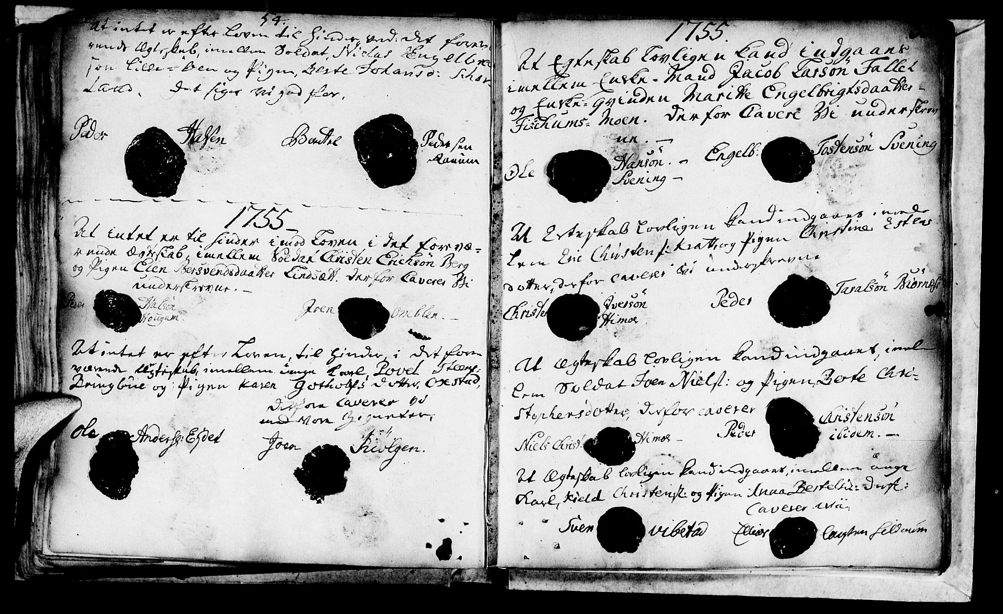 SAT, Ministerialprotokoller, klokkerbøker og fødselsregistre - Nord-Trøndelag, 764/L0541: Ministerialbok nr. 764A01, 1745-1758, s. 33
