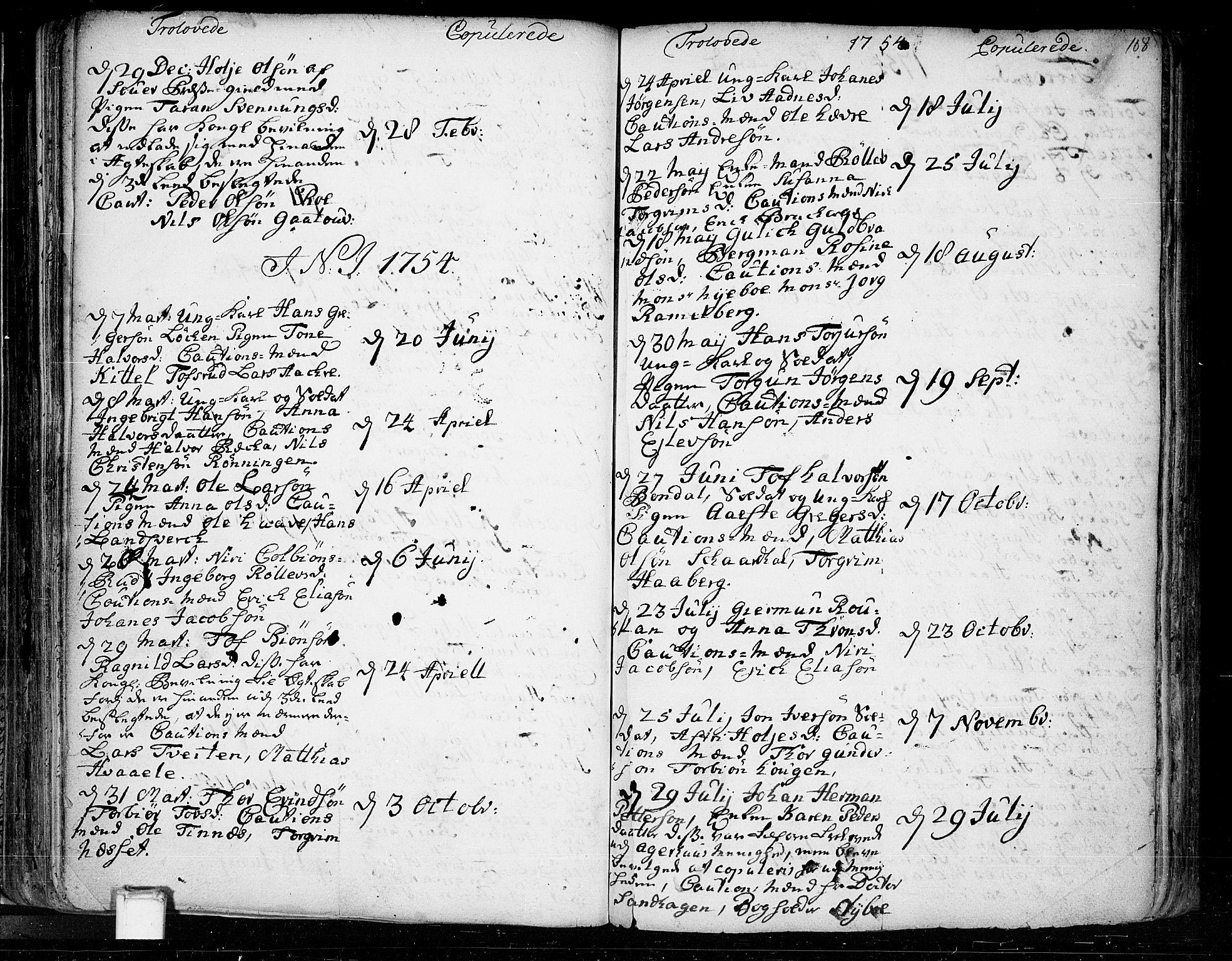 SAKO, Heddal kirkebøker, F/Fa/L0003: Ministerialbok nr. I 3, 1723-1783, s. 108