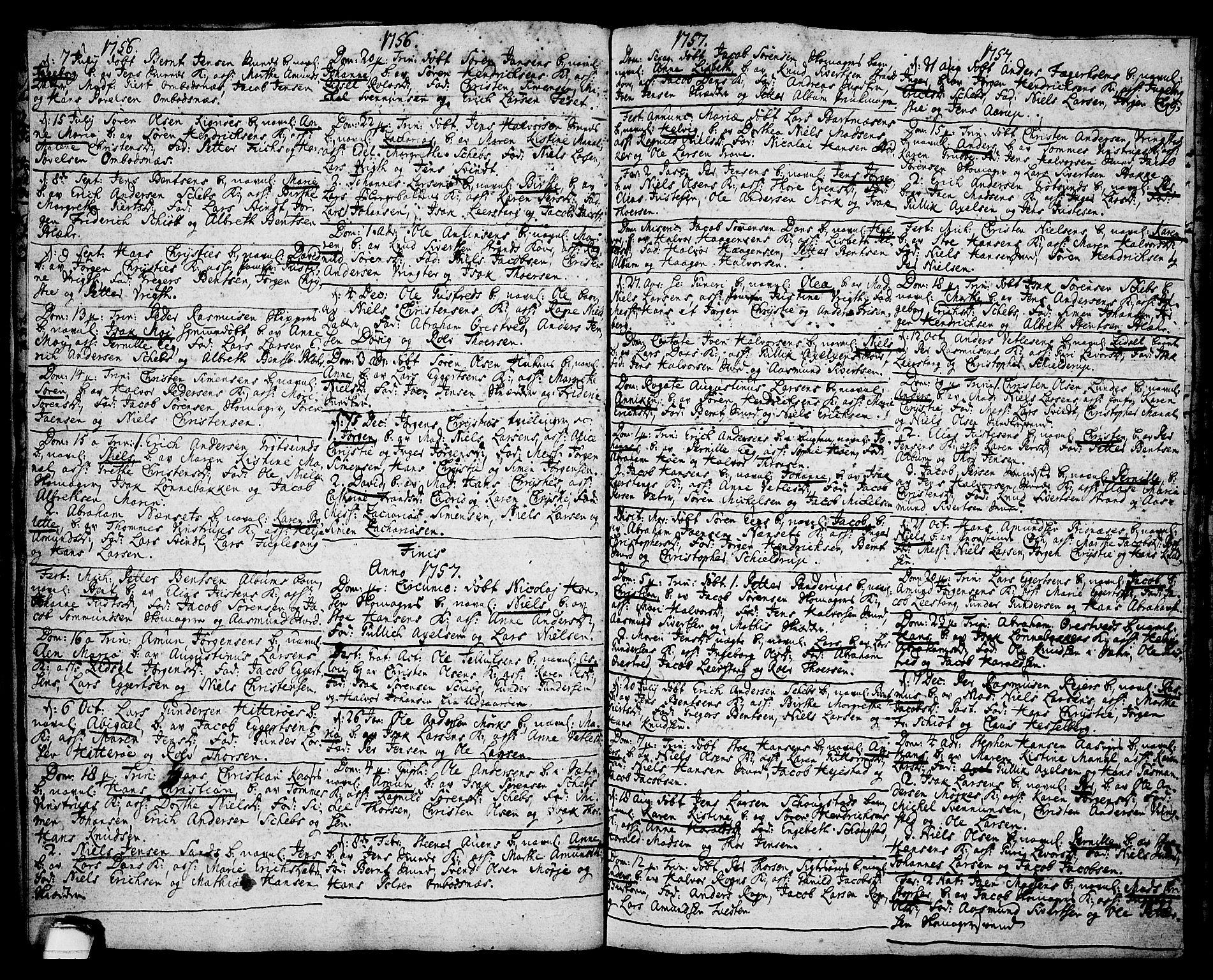 SAKO, Brevik kirkebøker, F/Fa/L0002: Ministerialbok nr. 2, 1720-1764, s. 35e