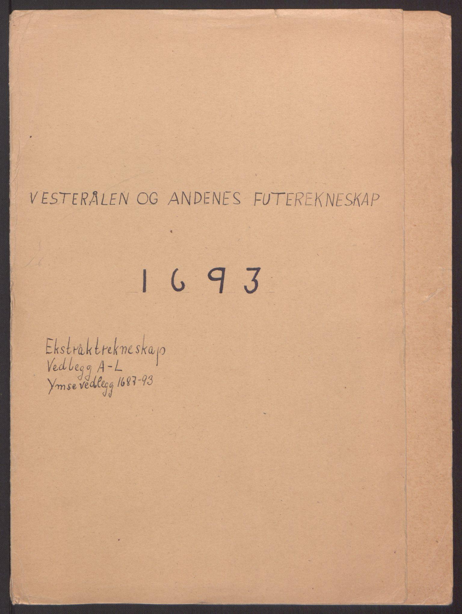 RA, Rentekammeret inntil 1814, Reviderte regnskaper, Fogderegnskap, R67/L4676: Fogderegnskap Vesterålen, Andenes og Lofoten, 1691-1693, s. 232