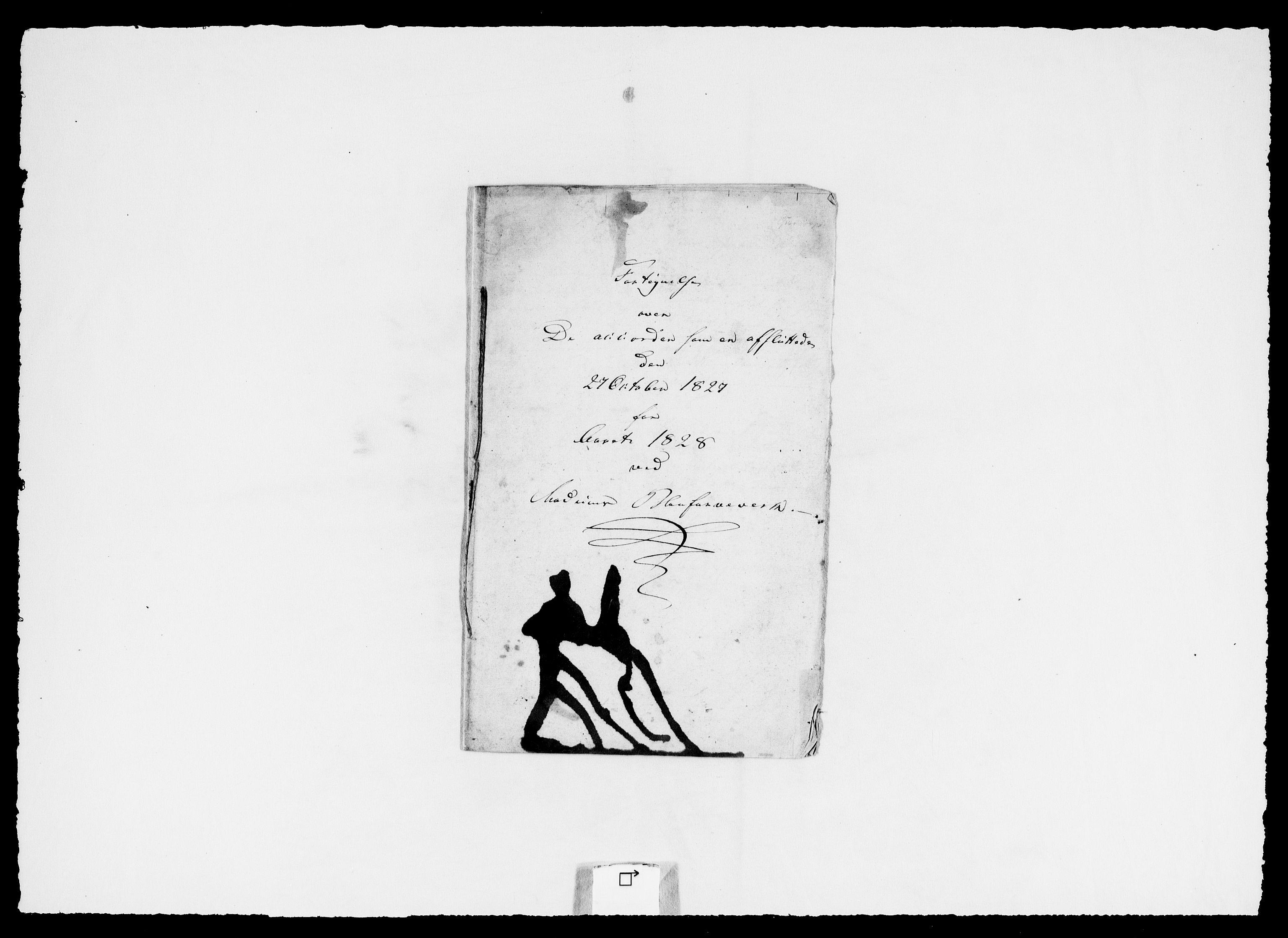 RA, Modums Blaafarveværk, G/Ga/L0063, 1827-1849, s. 12