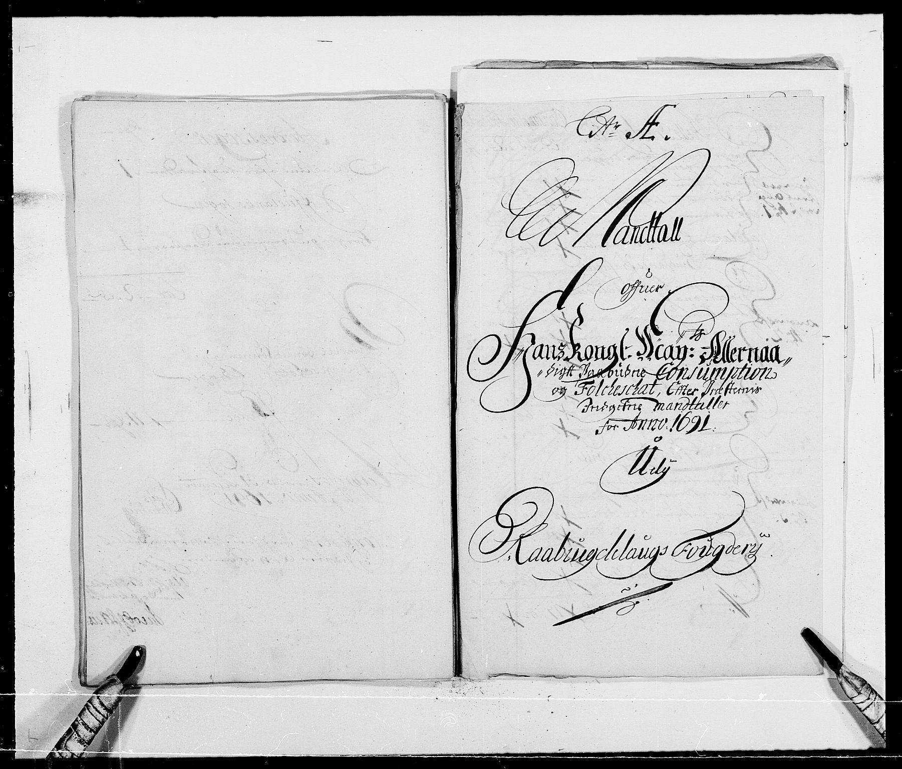 RA, Rentekammeret inntil 1814, Reviderte regnskaper, Fogderegnskap, R40/L2443: Fogderegnskap Råbyggelag, 1691-1692, s. 55