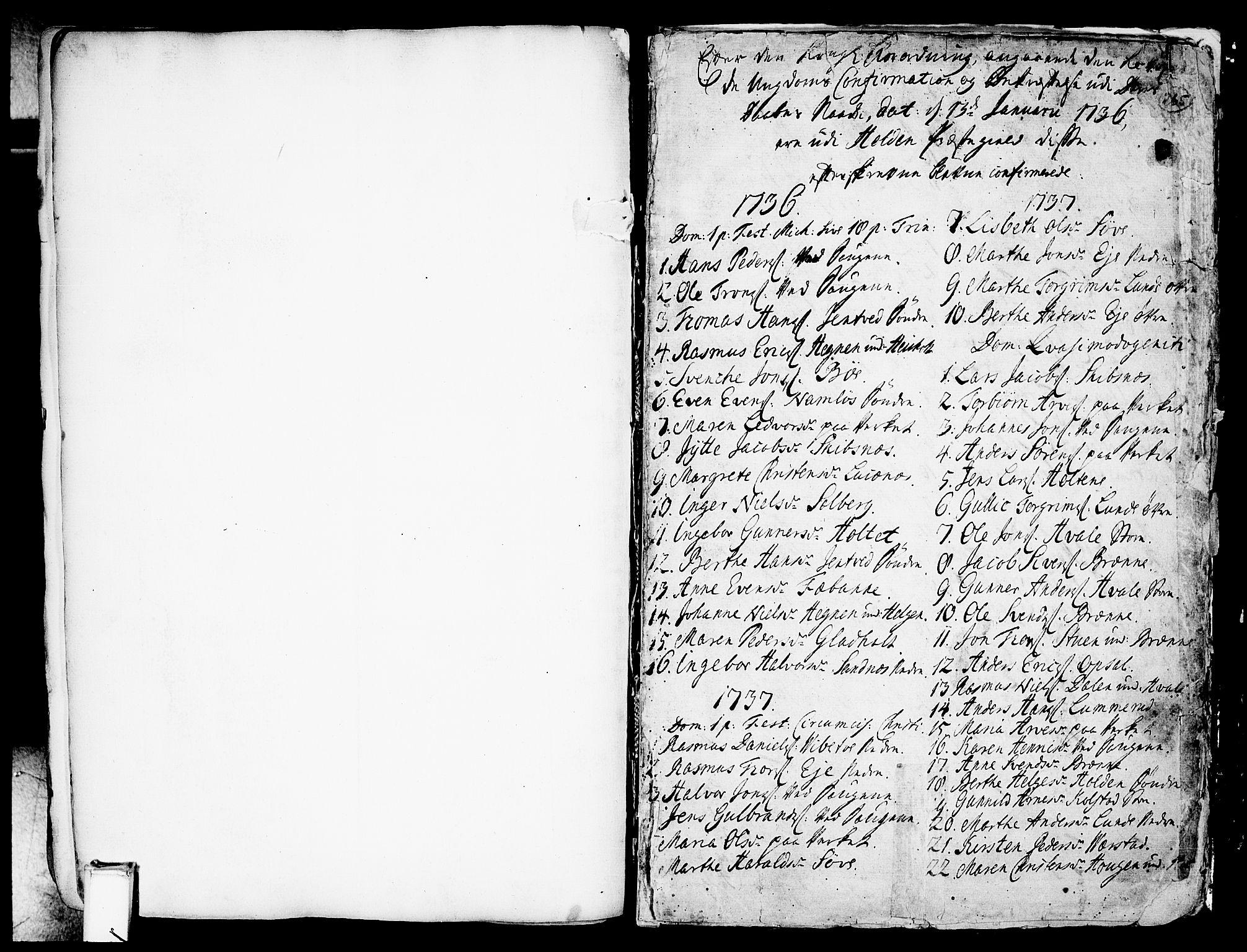 SAKO, Holla kirkebøker, F/Fa/L0001: Ministerialbok nr. 1, 1717-1779, s. 265
