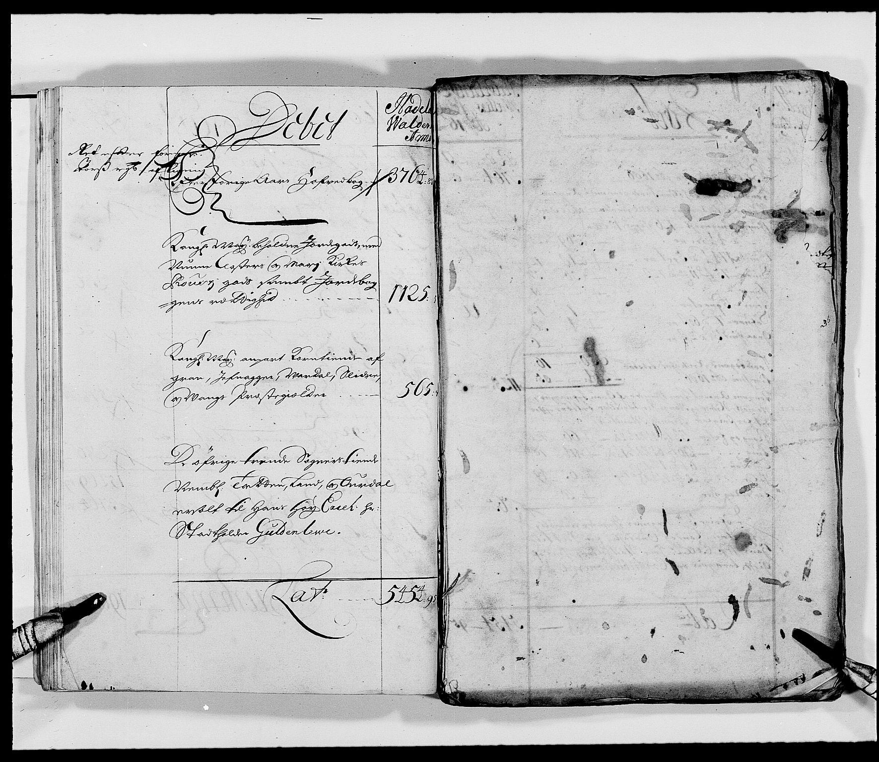RA, Rentekammeret inntil 1814, Reviderte regnskaper, Fogderegnskap, R18/L1287: Fogderegnskap Hadeland, Toten og Valdres, 1688, s. 64
