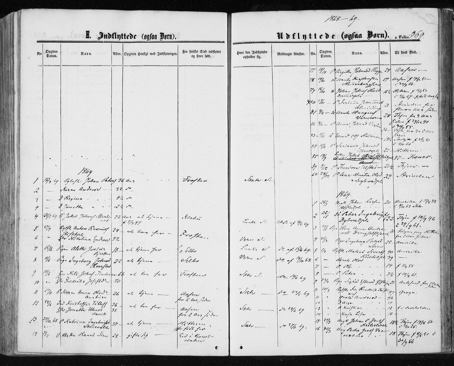 SAT, Ministerialprotokoller, klokkerbøker og fødselsregistre - Nord-Trøndelag, 709/L0075: Ministerialbok nr. 709A15, 1859-1870, s. 369