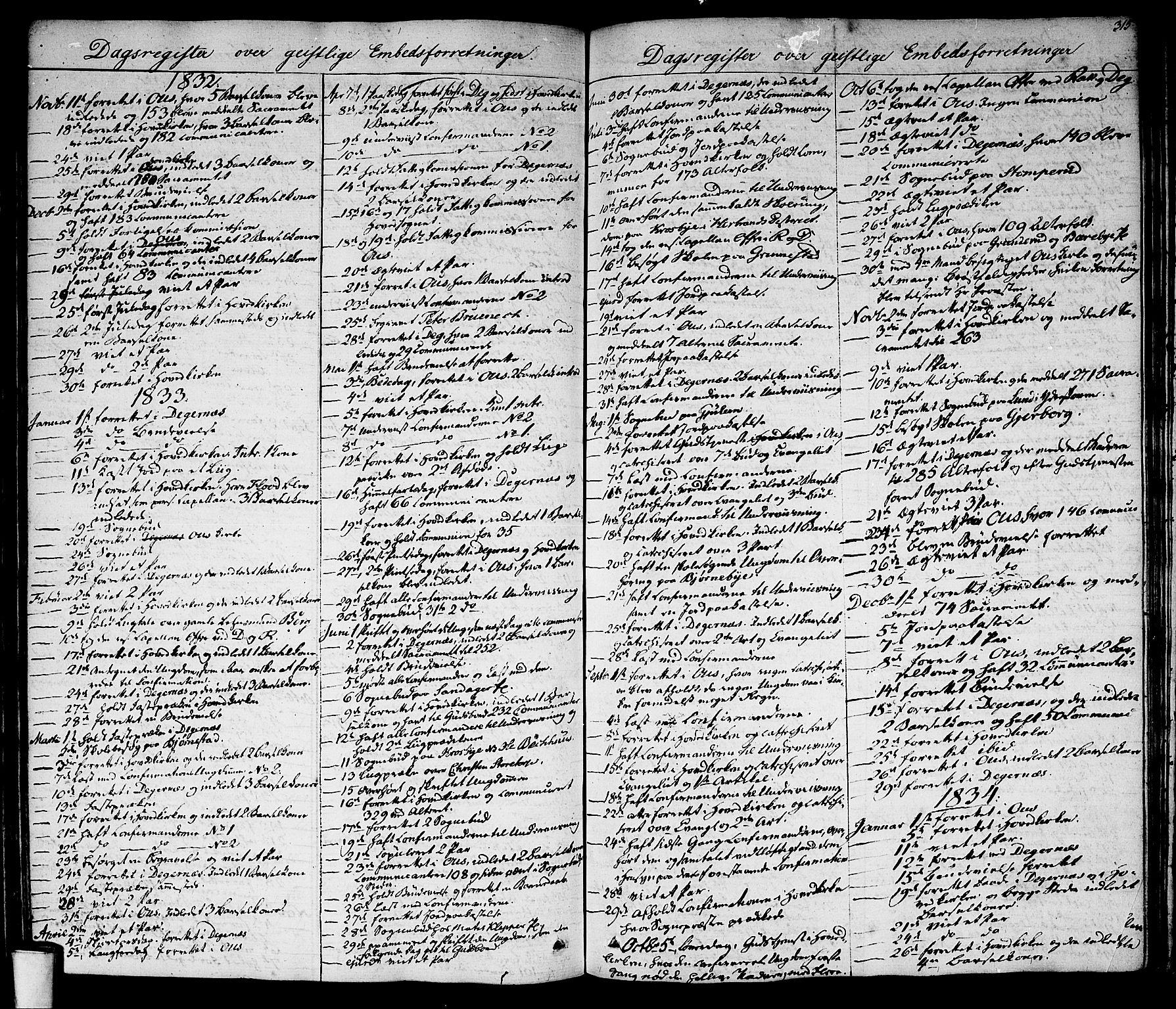 SAO, Rakkestad prestekontor Kirkebøker, F/Fa/L0007: Ministerialbok nr. I 7, 1825-1841, s. 315