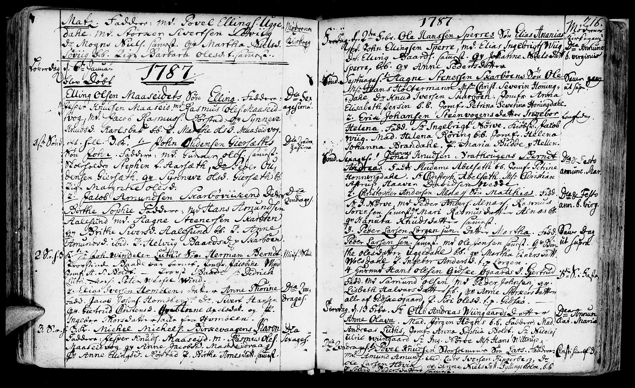 SAT, Ministerialprotokoller, klokkerbøker og fødselsregistre - Møre og Romsdal, 528/L0392: Ministerialbok nr. 528A03, 1762-1800, s. 216