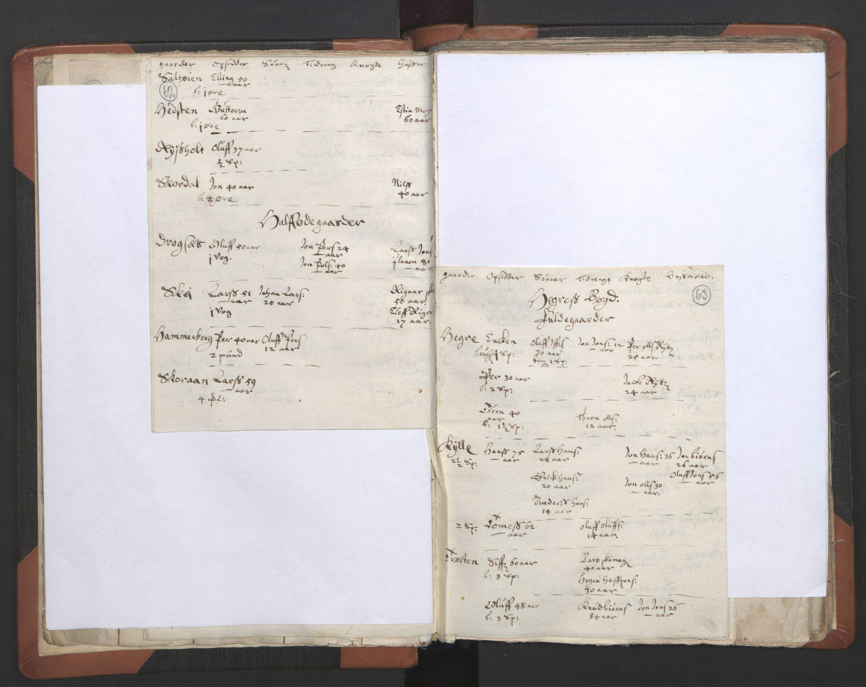 RA, Sogneprestenes manntall 1664-1666, nr. 32: Innherad prosti, 1664-1666, s. 62-63