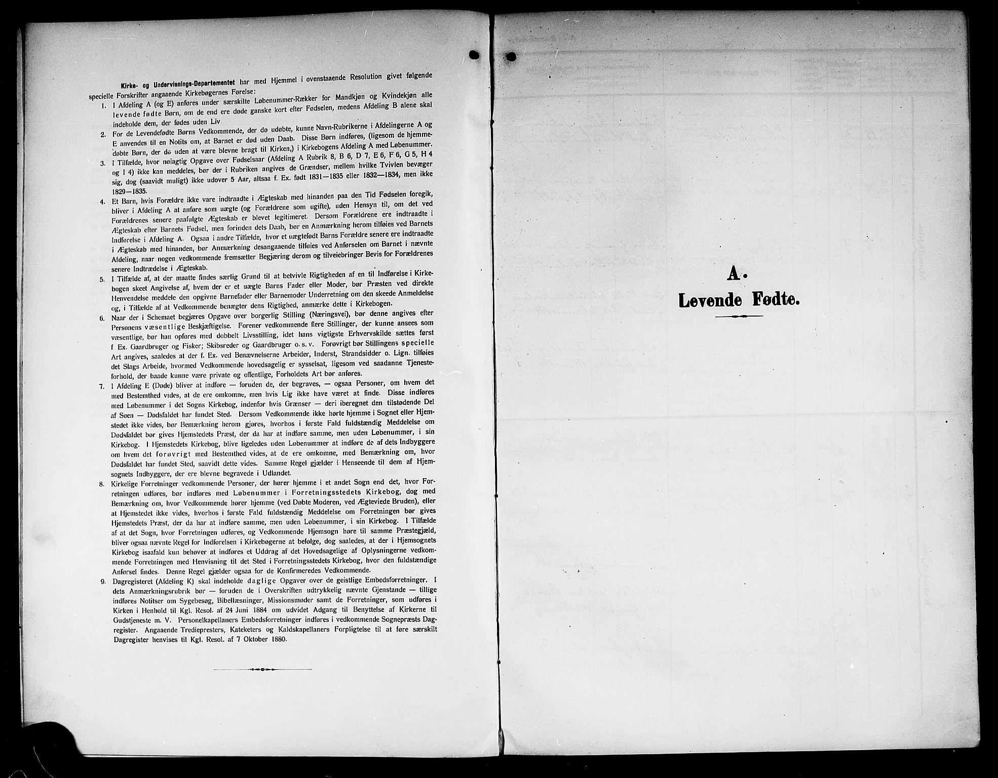 SAKO, Lunde kirkebøker, G/Ga/L0004: Klokkerbok nr. I 4, 1906-1914